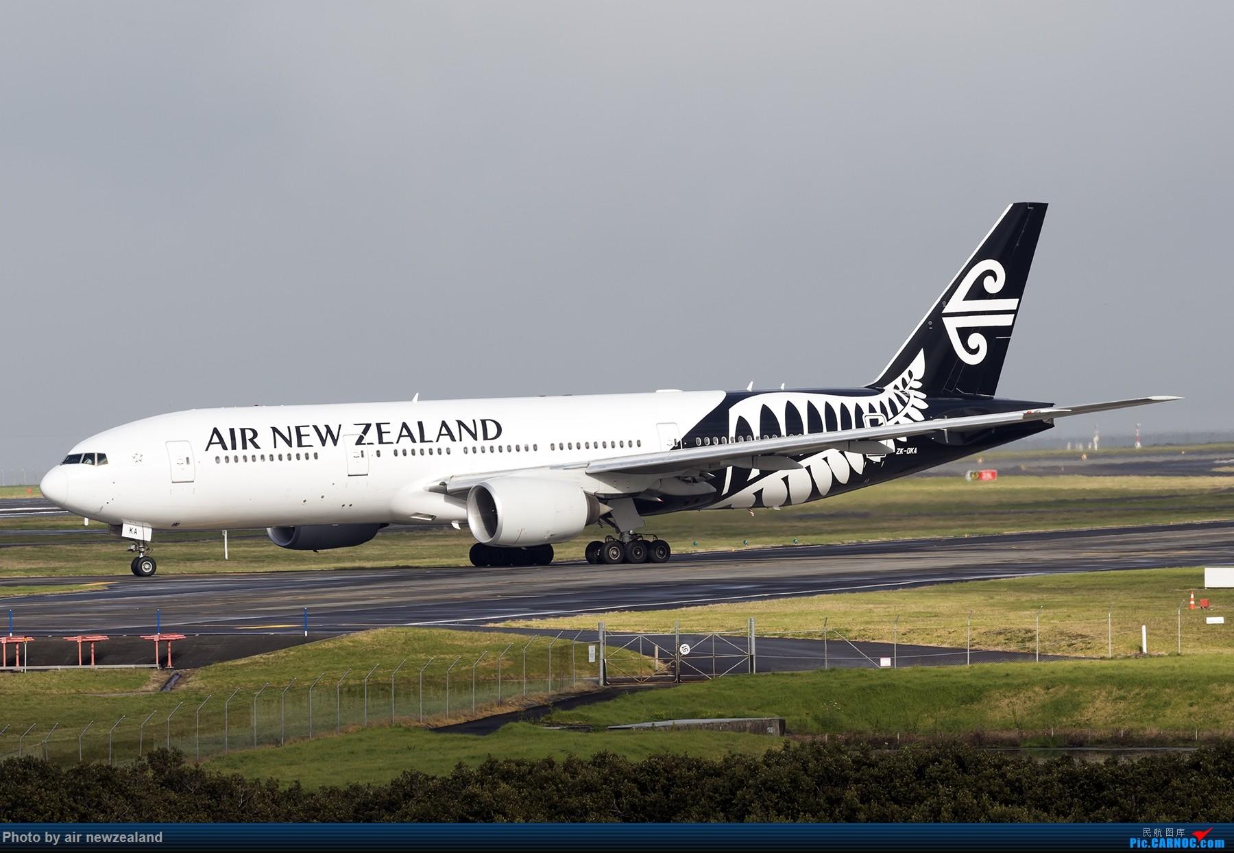 [原创]还是那片天-AKL BOEING 777-200 ZK-OKA 新西兰奥克兰机场