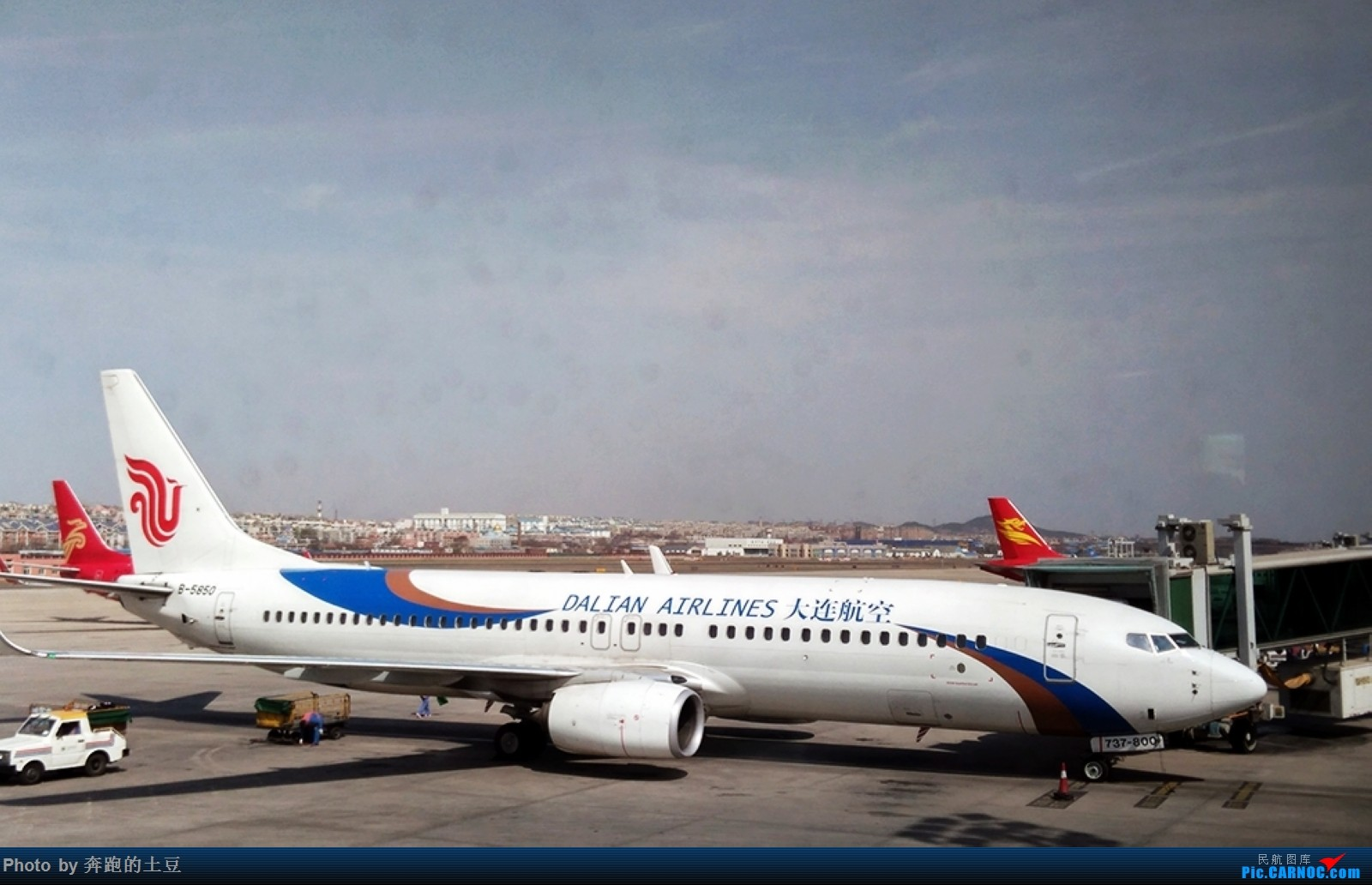 Re:十堰武当山机场小试牛刀 BOEING 737-800 B-5850 中国大连国际机场
