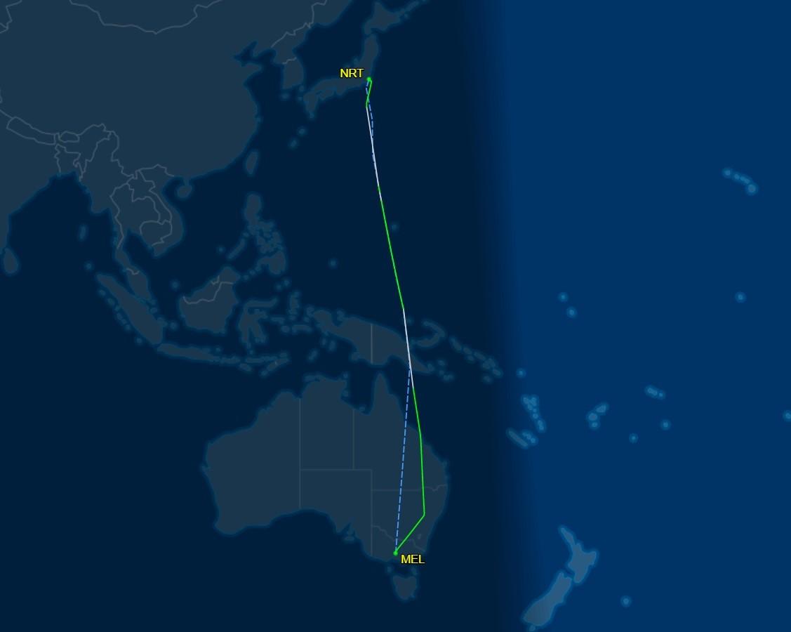 Re: [原创]【 JAL SS8 新規就航 | 东瀛南北大移动 | 周游列岛无亮点 】 BOEING 787-8 JA842J 澳大利亚墨尔本机场
