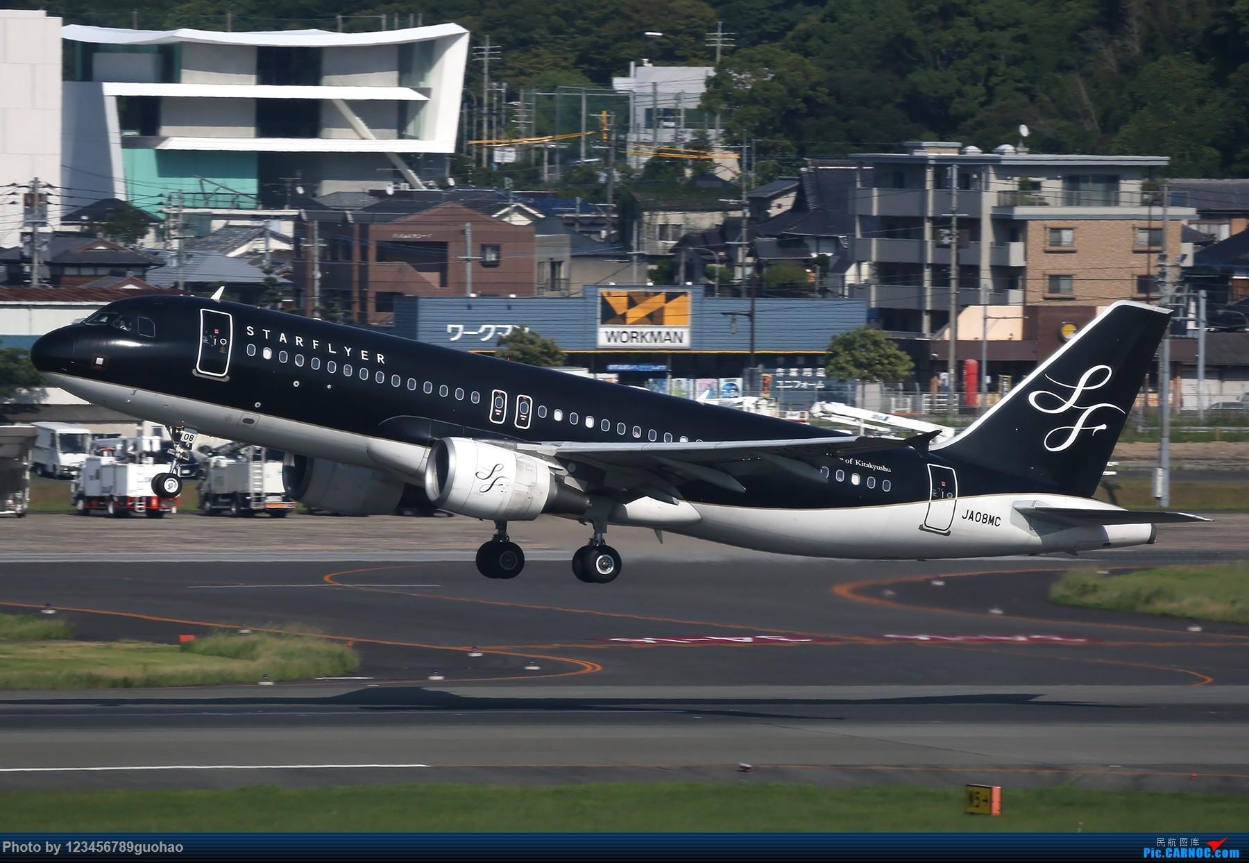[原创]星悦 AIRBUS A320 JA08MC 日本福冈机场