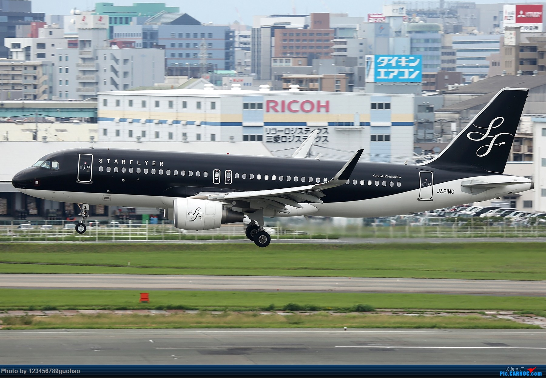 Re:[原创]星悦 AIRBUS A320 JA21MC 日本福冈机场