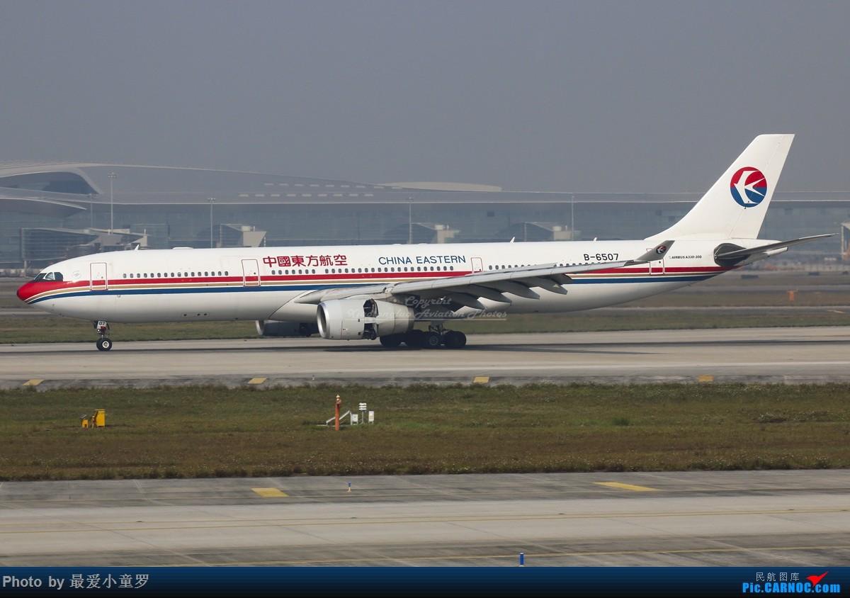 [原创]失踪人口回归——半年没回去广州拍机了,怀念一下,那边还好吗? AIRBUS A330-300 B-6507 中国广州白云国际机场
