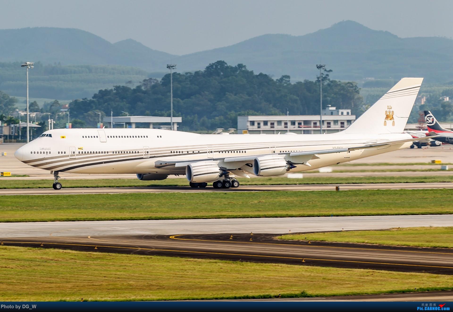 Re:[原创]【南宁飞友】又是一年东博会 BOEING 747-8I V8-BKH 中国南宁吴圩国际机场