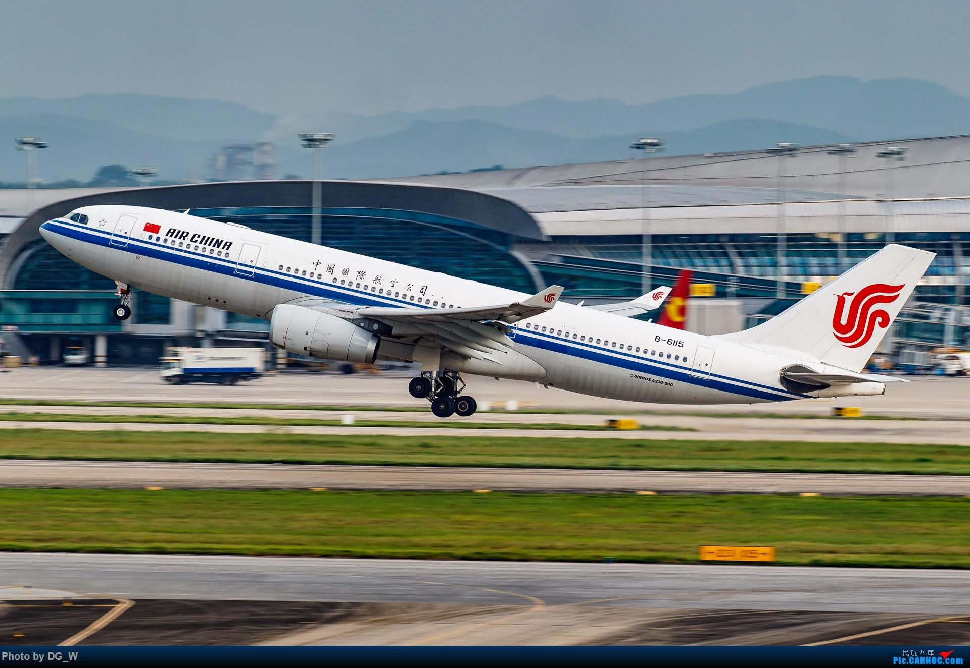 Re:[原创]【南宁飞友】又是一年东博会 AIRBUS A330-200 B-6115 中国南宁吴圩国际机场