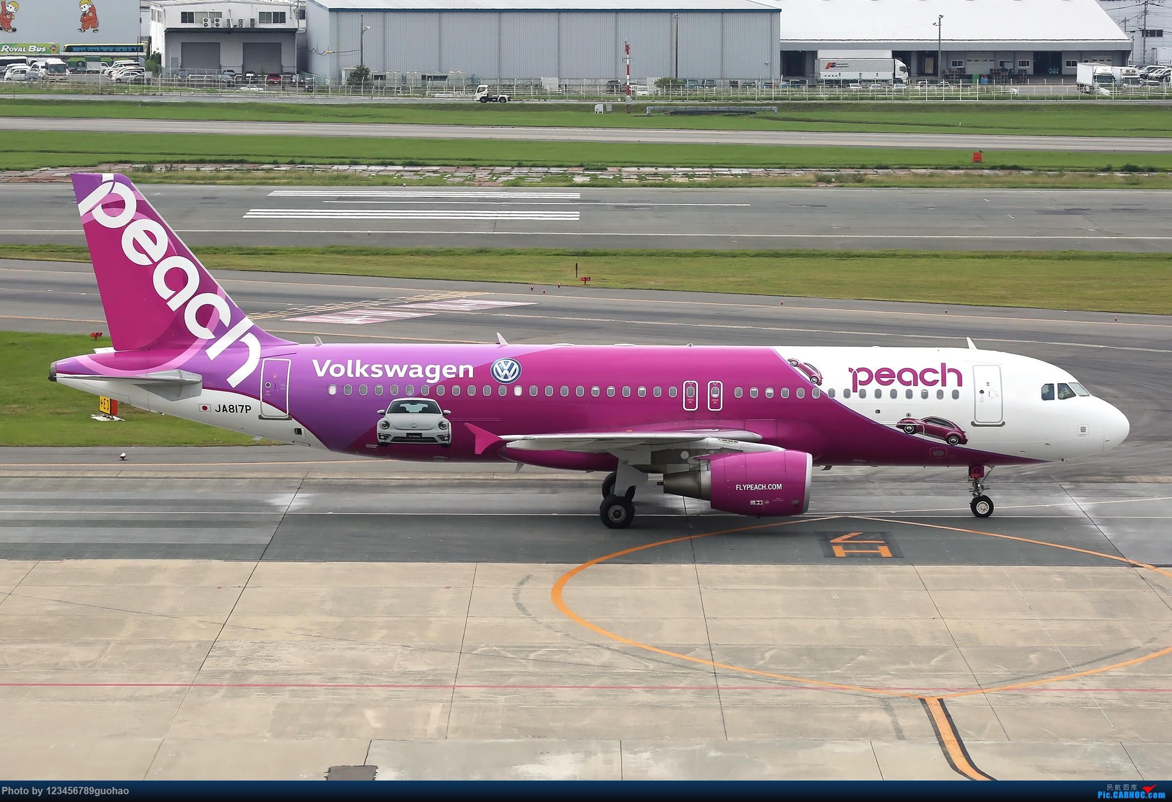 Re:[原创]PEACH AIRBUS A320 JA817P 日本福冈机场