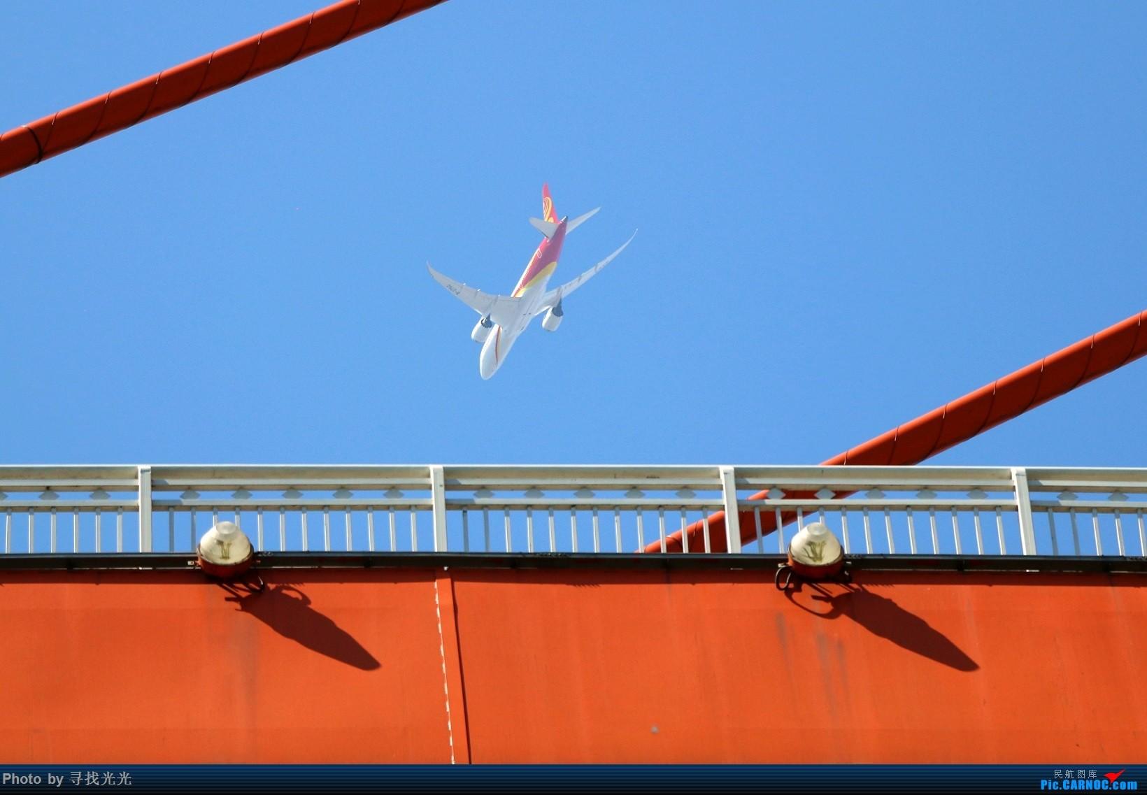 Re:[原创]飞机与山城重庆的桥 BOEING 787-8 B-2750 重庆南滨路