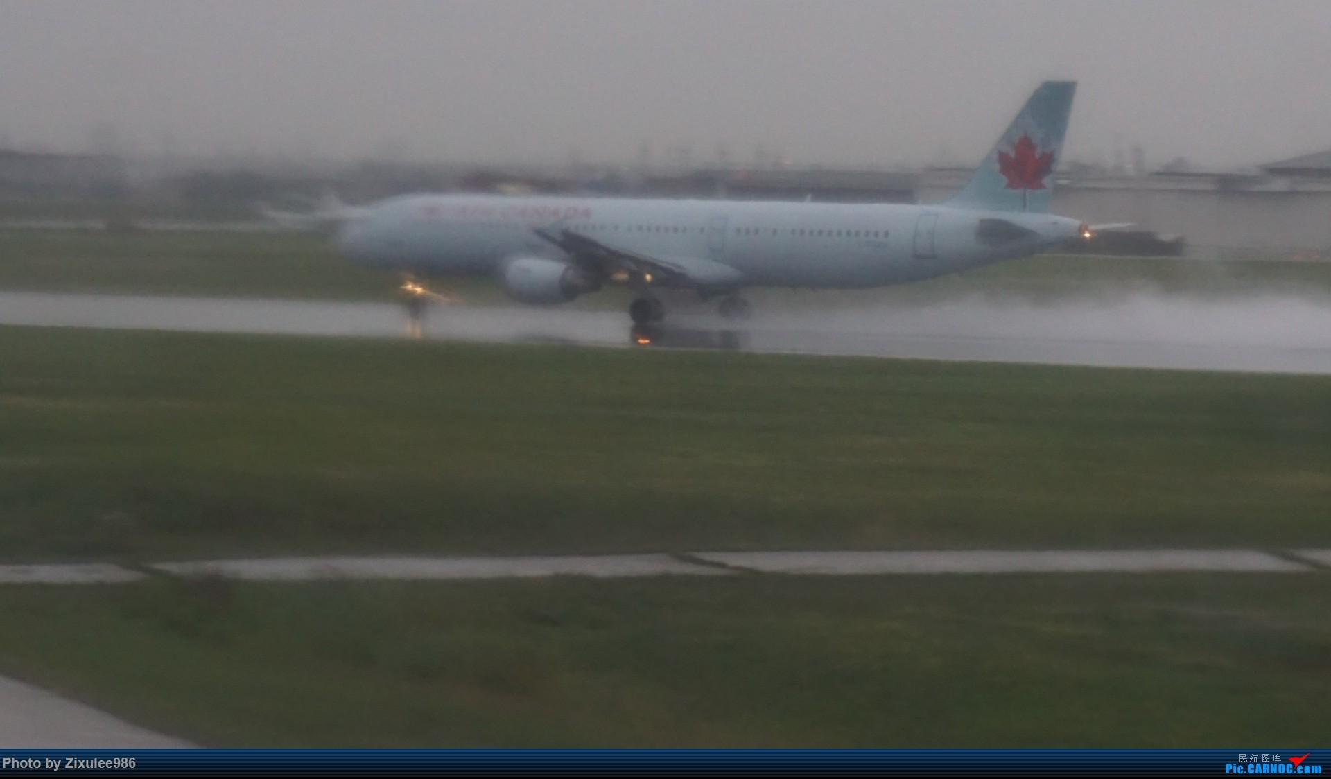 Re:[原创]加拿大21日游学之旅 (二)~加航AC28..PVG-YYZ到达多村后的雨天~多图缓更(将会附上上一集忘发的flightlog)请各位大侠谅解~ AIRBUS A321-200  加拿大多伦多皮尔逊国际机场