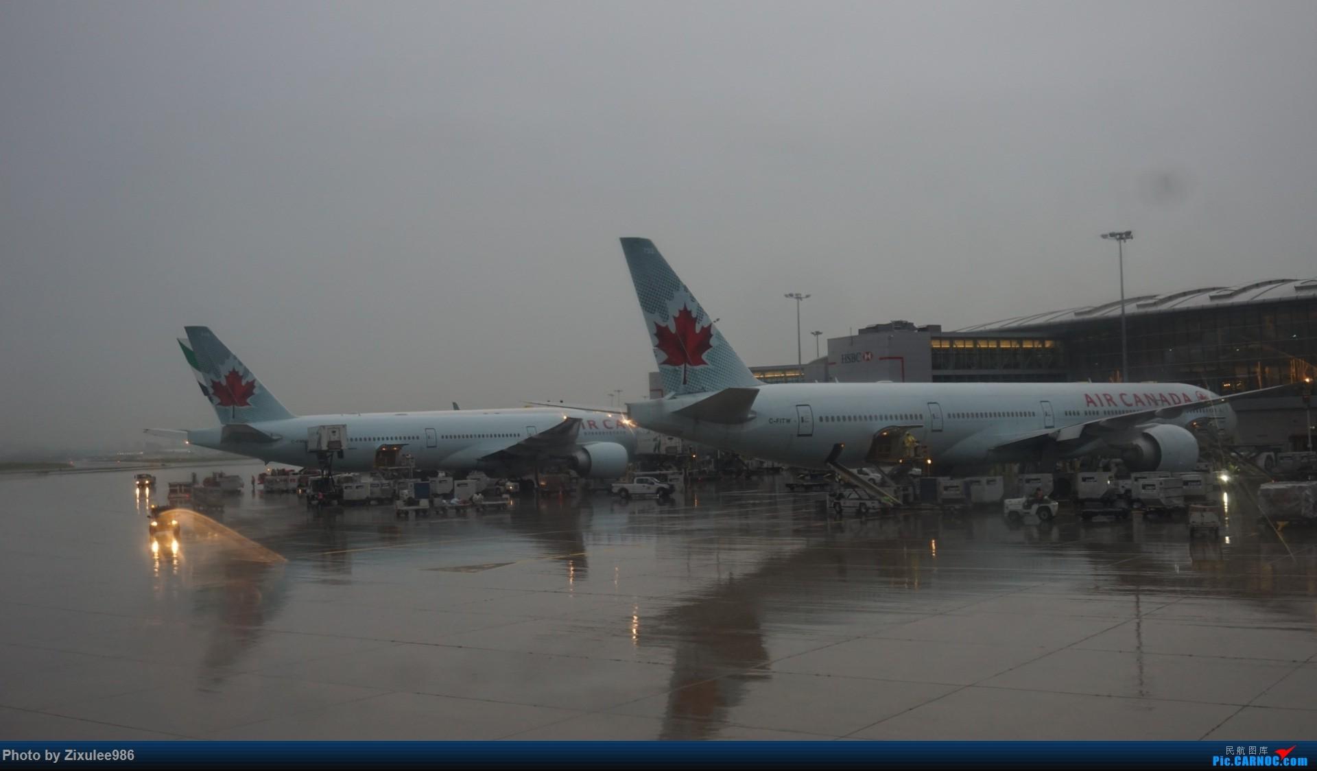 Re:[原创]加拿大21日游学之旅 (二)~加航AC28..PVG-YYZ到达多村后的雨天~多图缓更(将会附上上一集忘发的flightlog)请各位大侠谅解~ BOEING 777-333 (ER)  加拿大多伦多皮尔逊机场