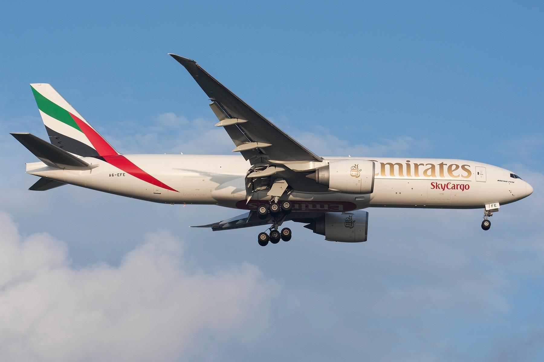 [原创][PVG] 以土豪国告别777迎来787 BOEING 77F A6-EFE 中国上海浦东国际机场