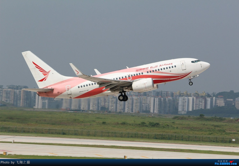 Re:[原创]CKG拍机(重庆江北国际机场3跑超级无敌神仙位首战高婕) BOEING 737-700 B-5812 重庆江北国际机场