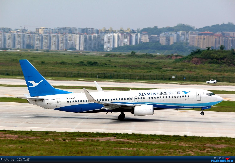Re:[原创]CKG拍机(重庆江北国际机场3跑超级无敌神仙位首战高婕) BOEING 737-800 B-6486 重庆江北国际机场