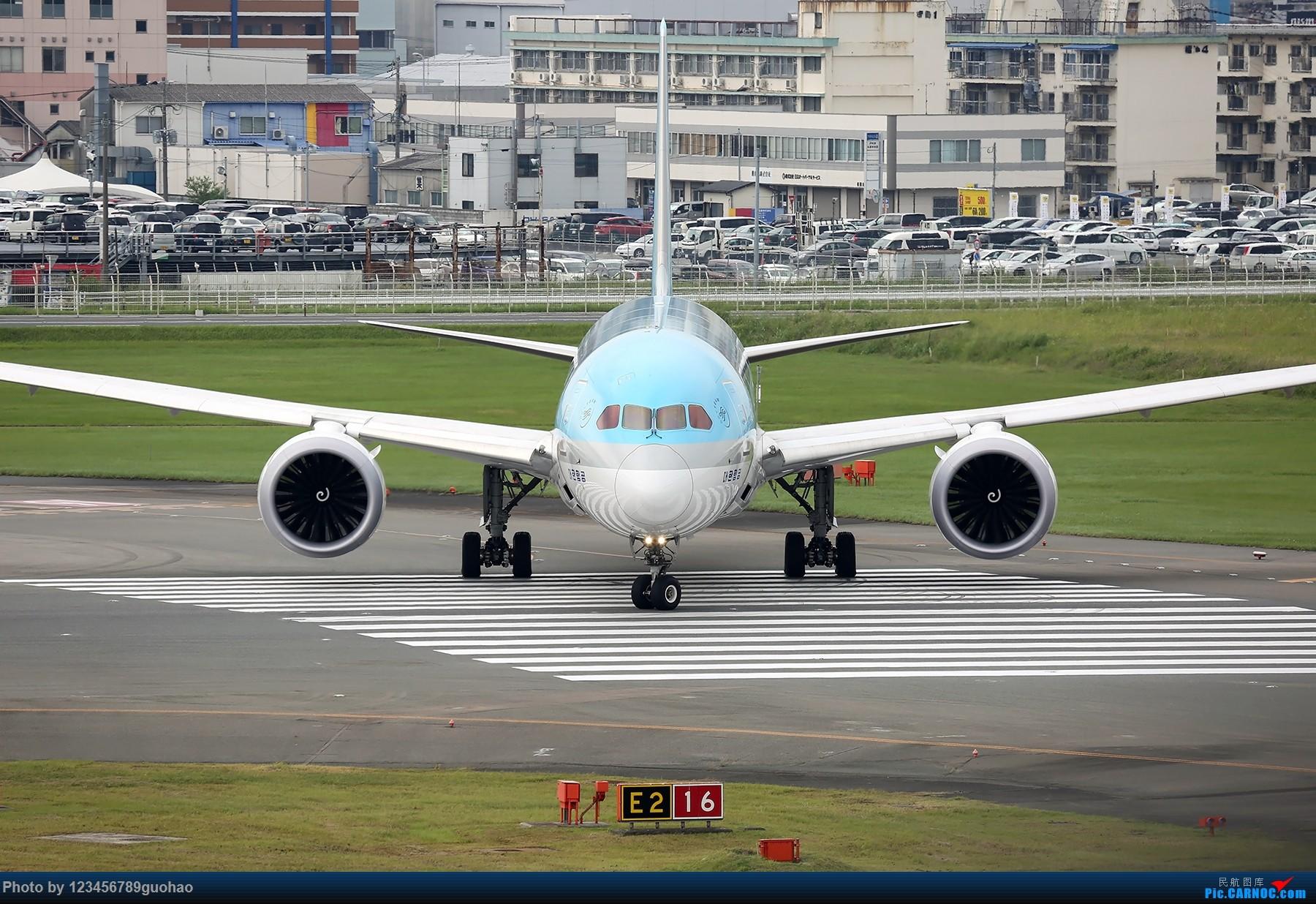 [原创]一图党-棒子 BOEING 787-9 HL8081 日本福冈机场