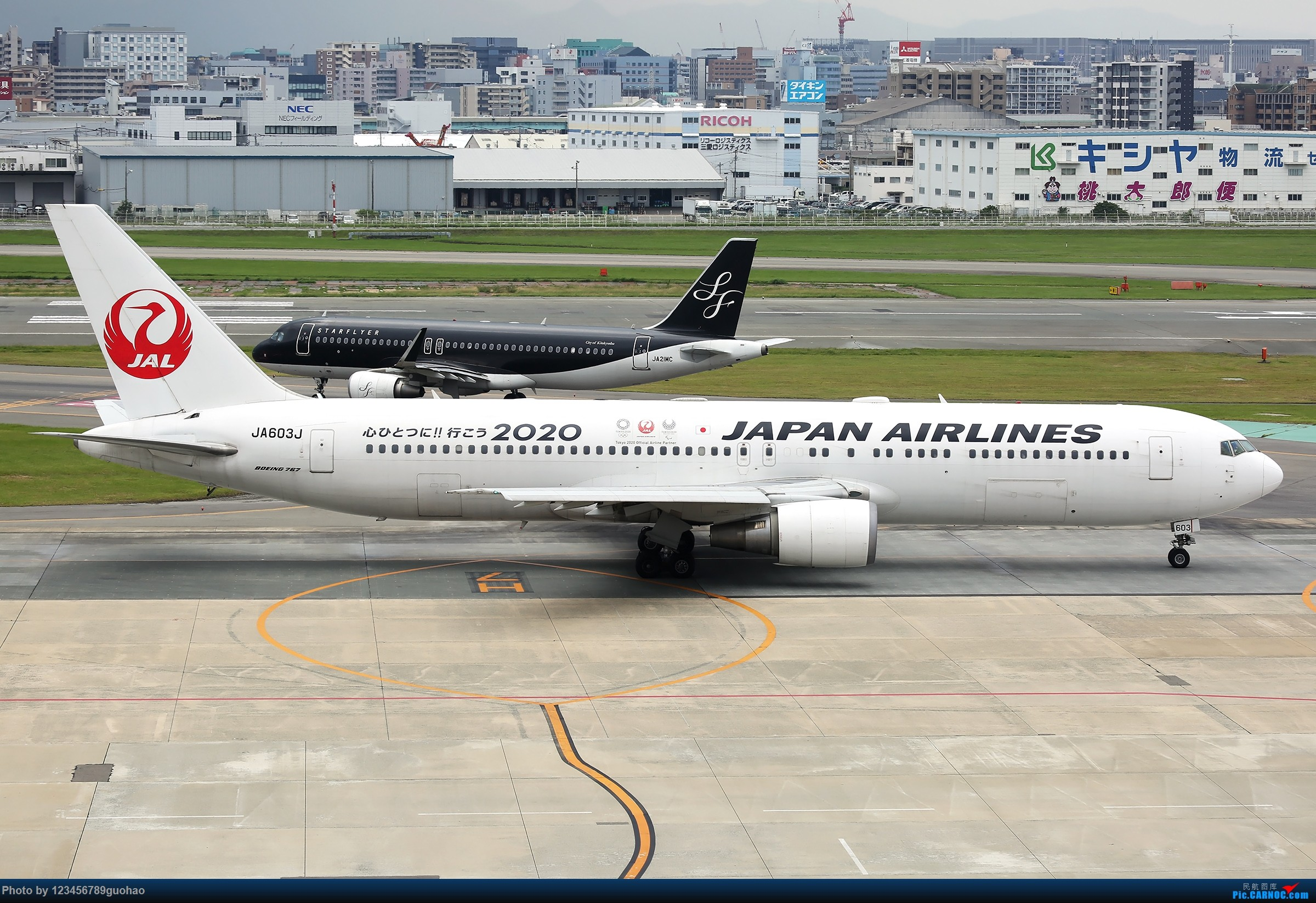 Re:[原创]JAL2020 BOEING 767-300 JA603J 日本福冈机场