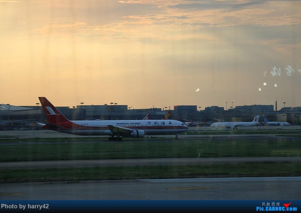 Re:[原创]【蜀黍游记No.4】又见面了,香港——抓住暑假的尾巴,寻找不一样的香港 BOEING 767-300 B-2498 中国上海虹桥国际机场