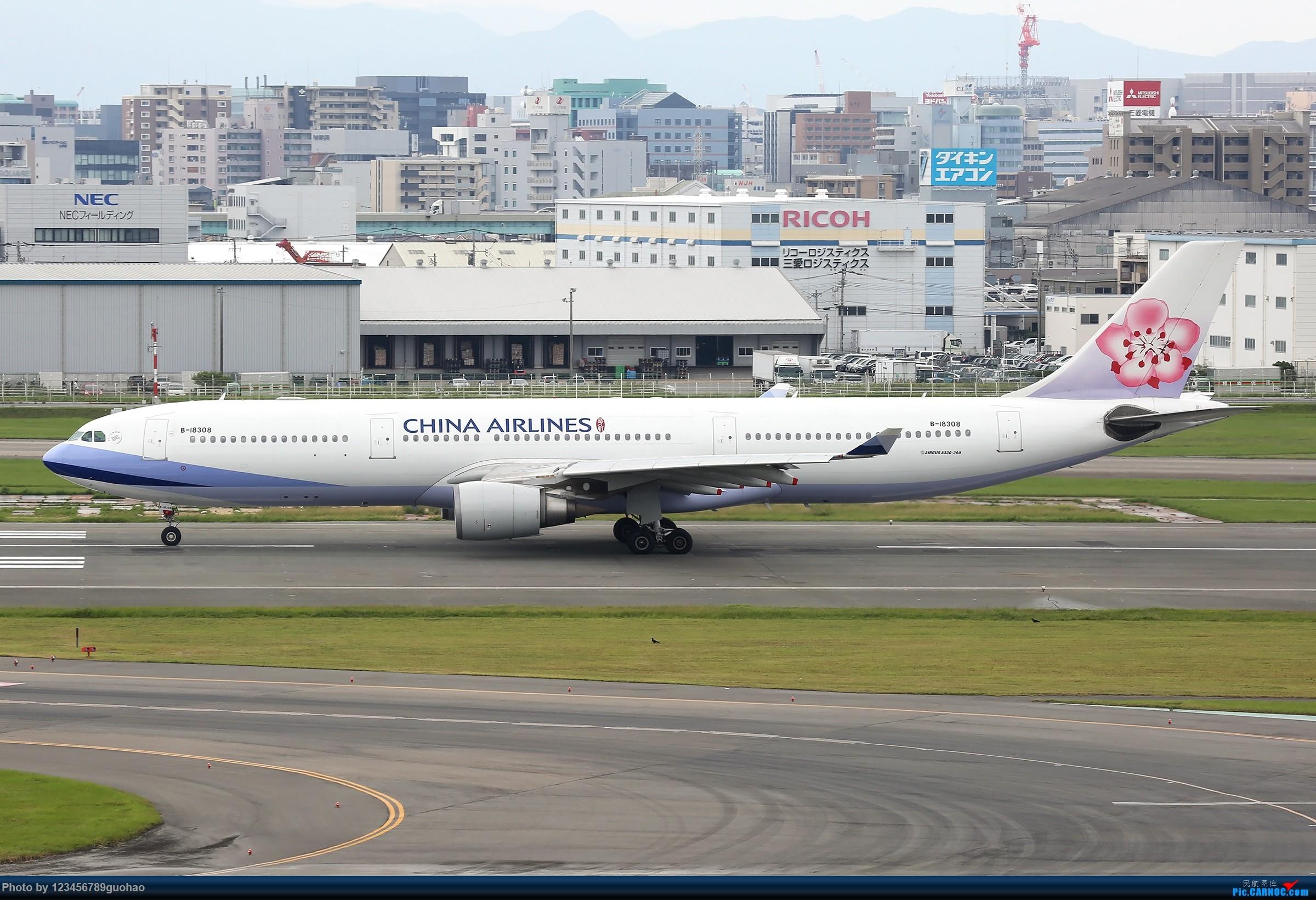 Re:FUK330一组 AIRBUS A330-300 B-18308 日本福冈机场