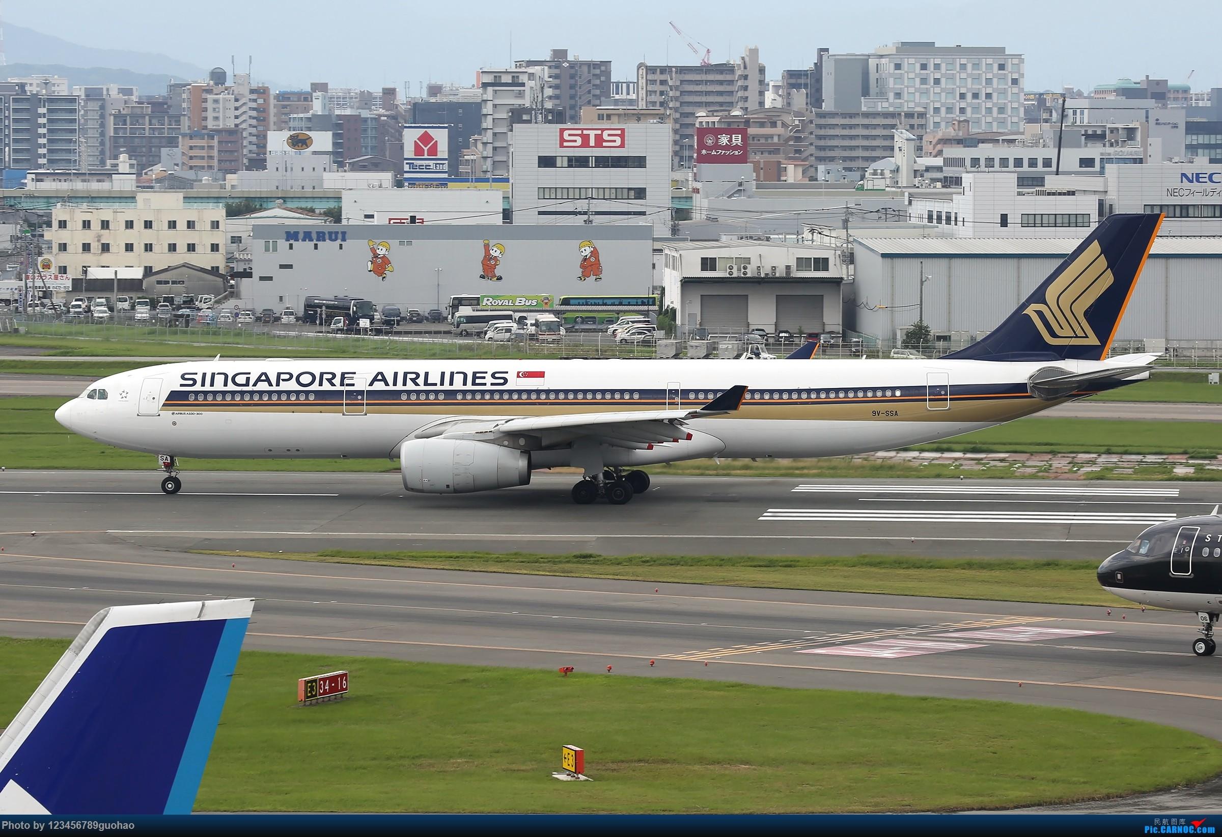 Re:[原创]FUK330一组 AIRBUS A330-300 9V-SSA 日本福冈机场