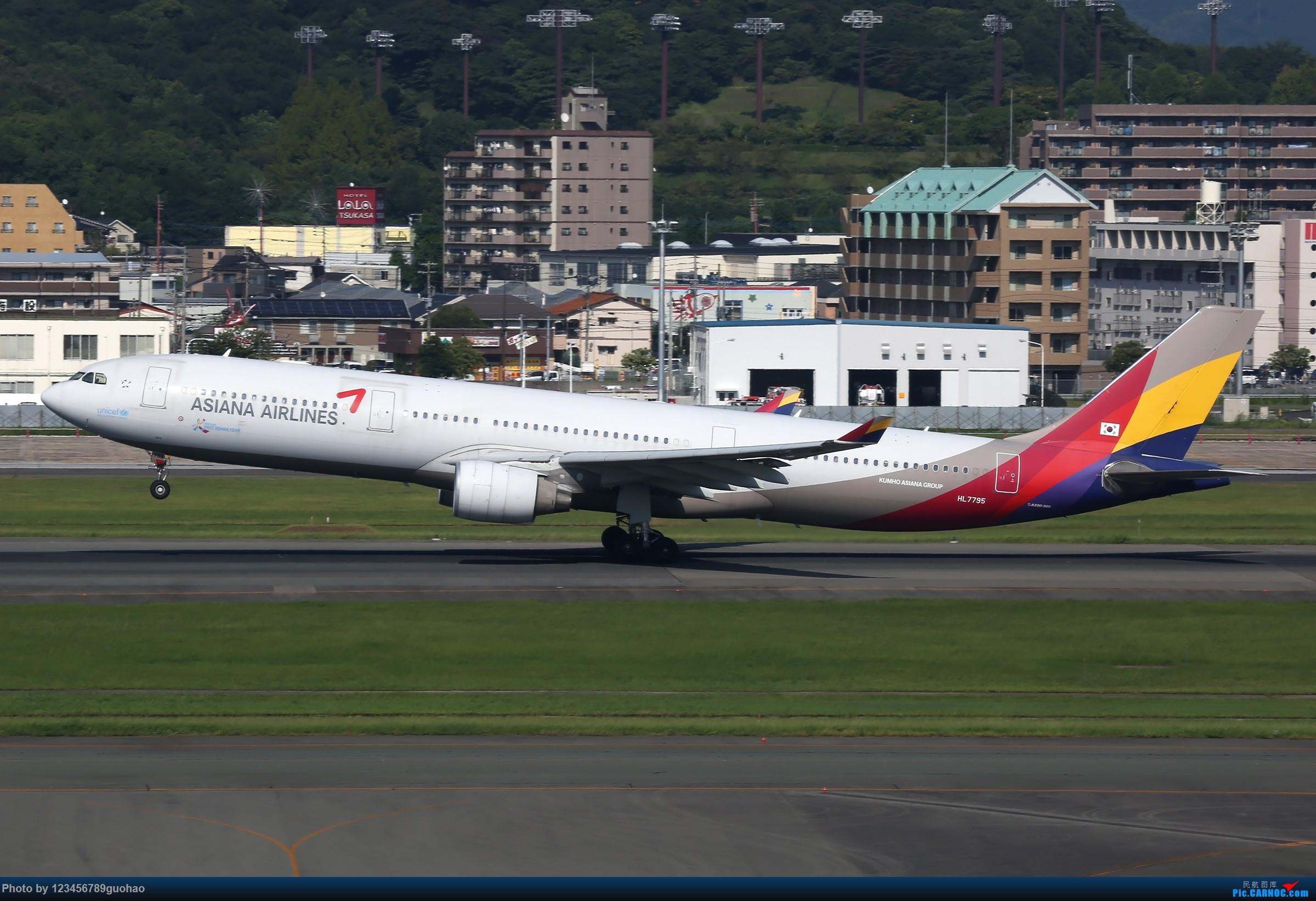 Re:[原创]FUK330一组 AIRBUS A330-300 HL7795 日本福冈机场