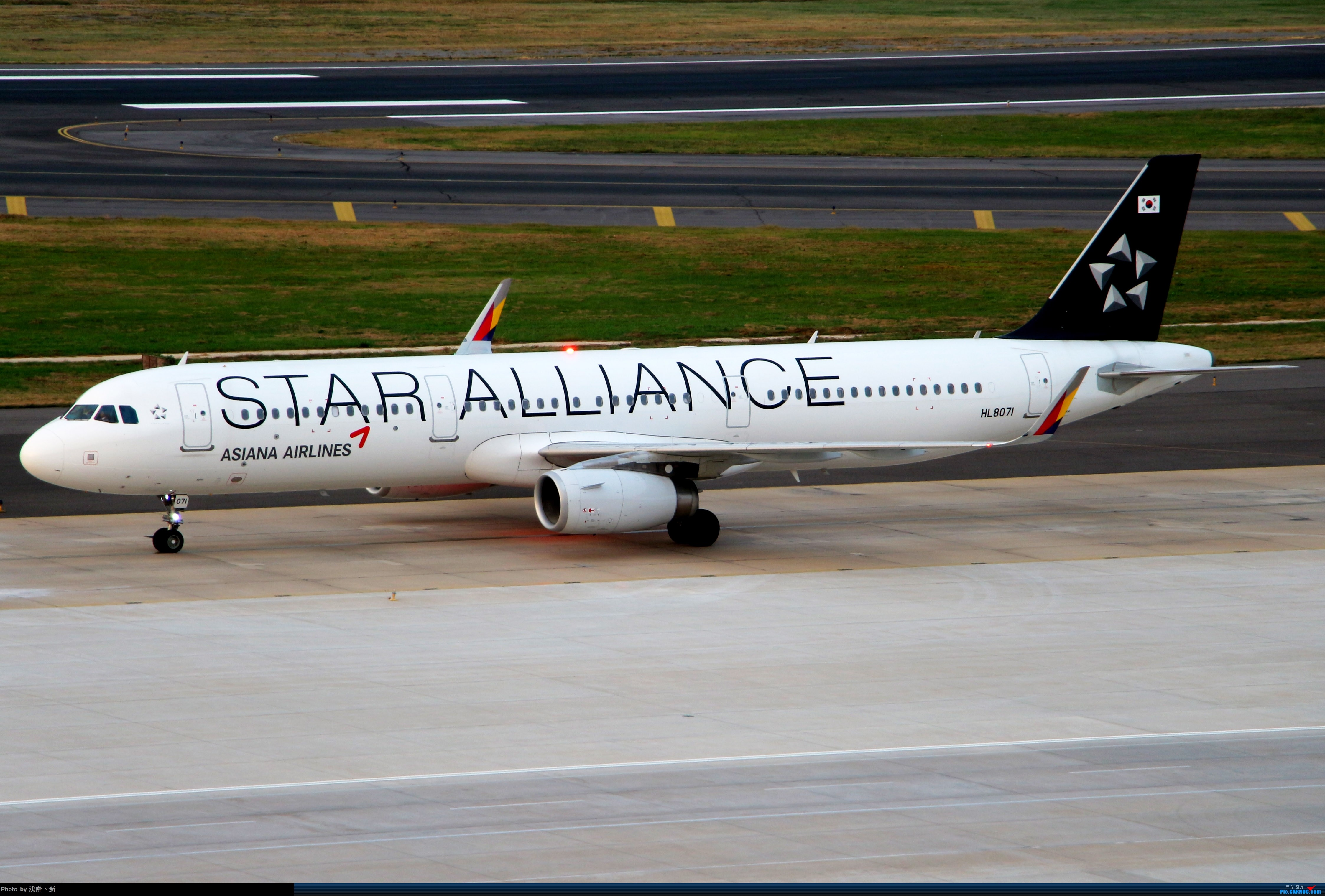 Re:[原创]DLC 9.15 日常杂货 AIRBUS A321 HL8071 中国大连国际机场