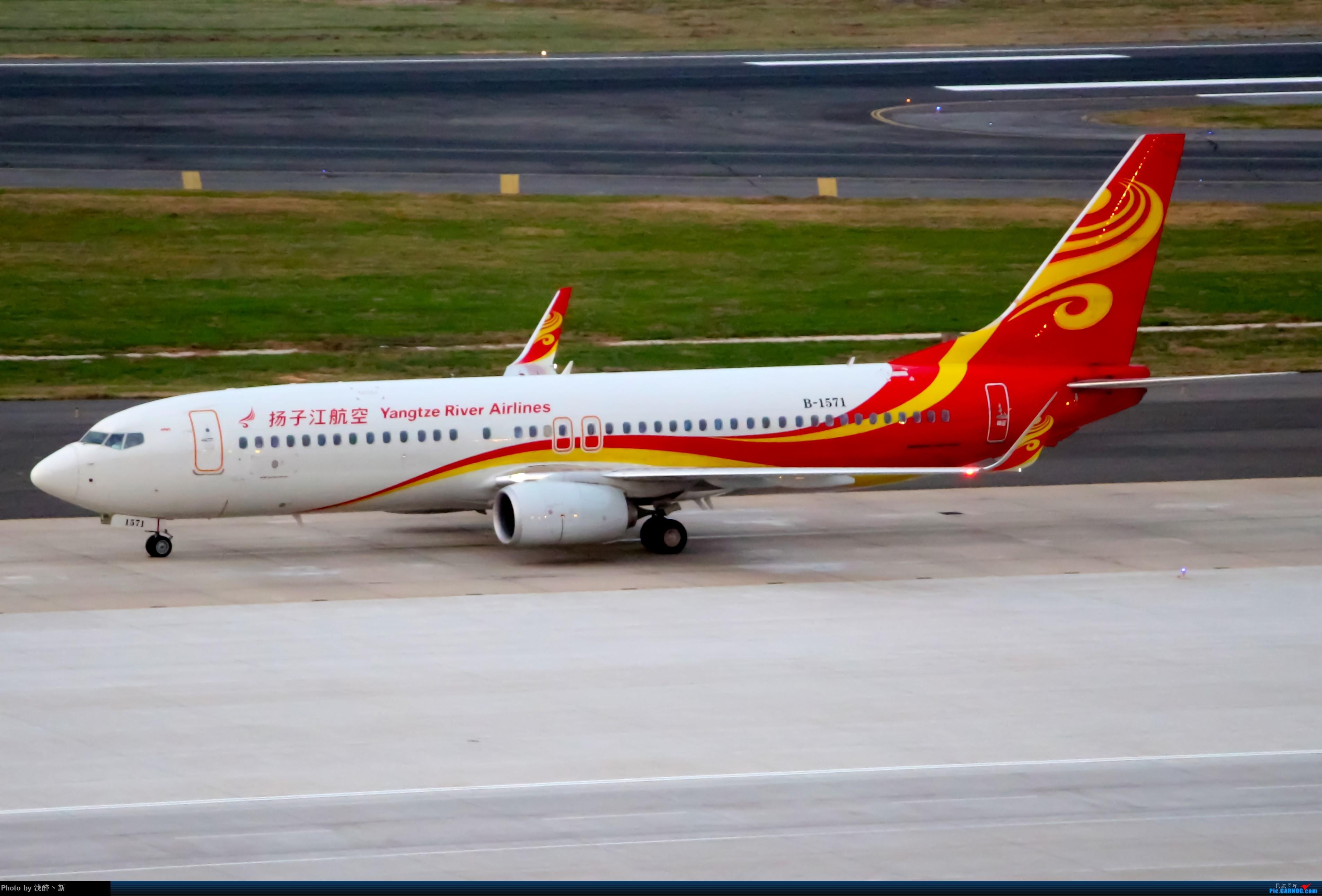 Re:[原创]DLC 9.15 日常杂货 BOEING 737-800 B-1571 中国大连国际机场