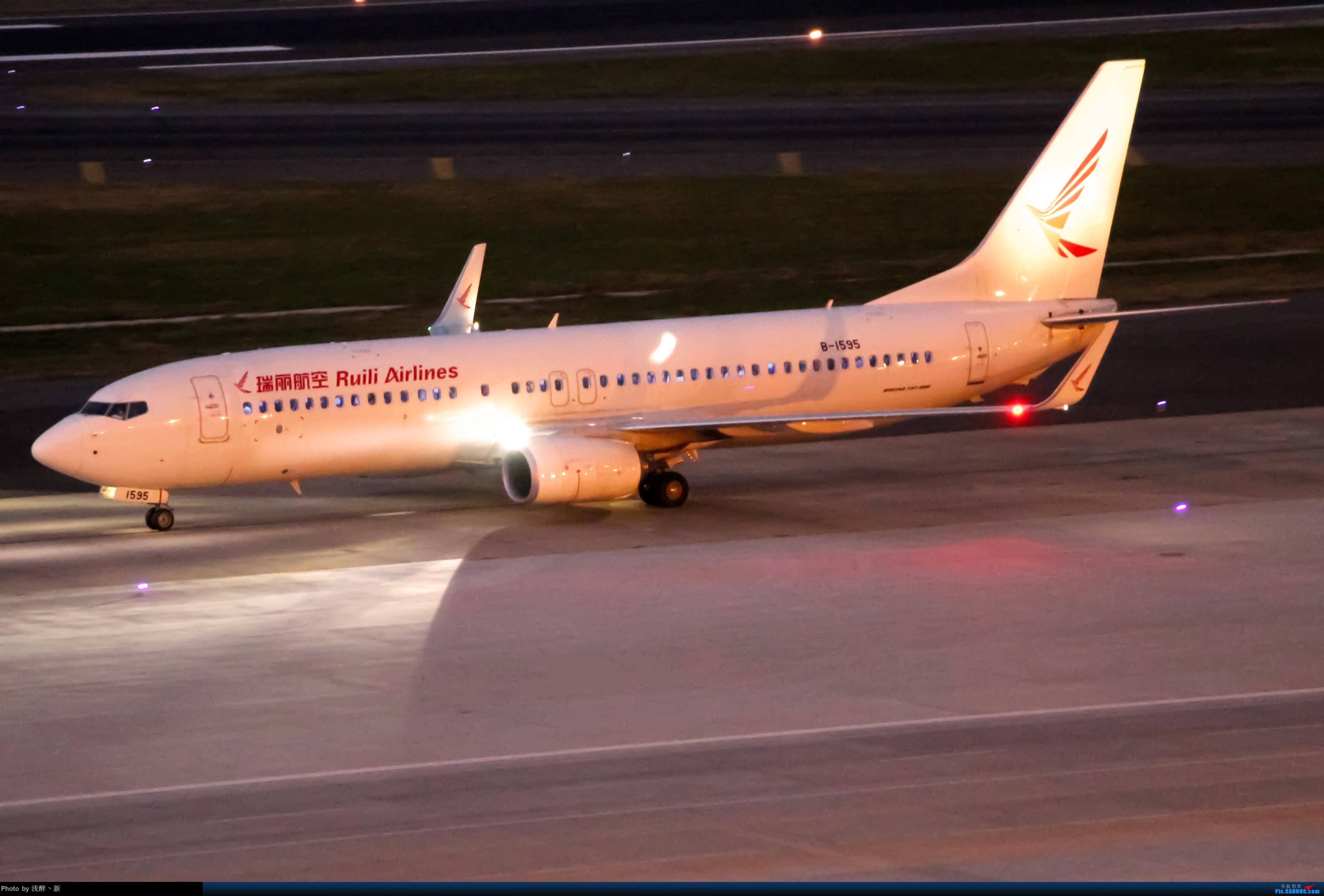 Re:[原创]DLC 9.15 日常杂货 BOEING 737-800 B-1595 中国大连国际机场