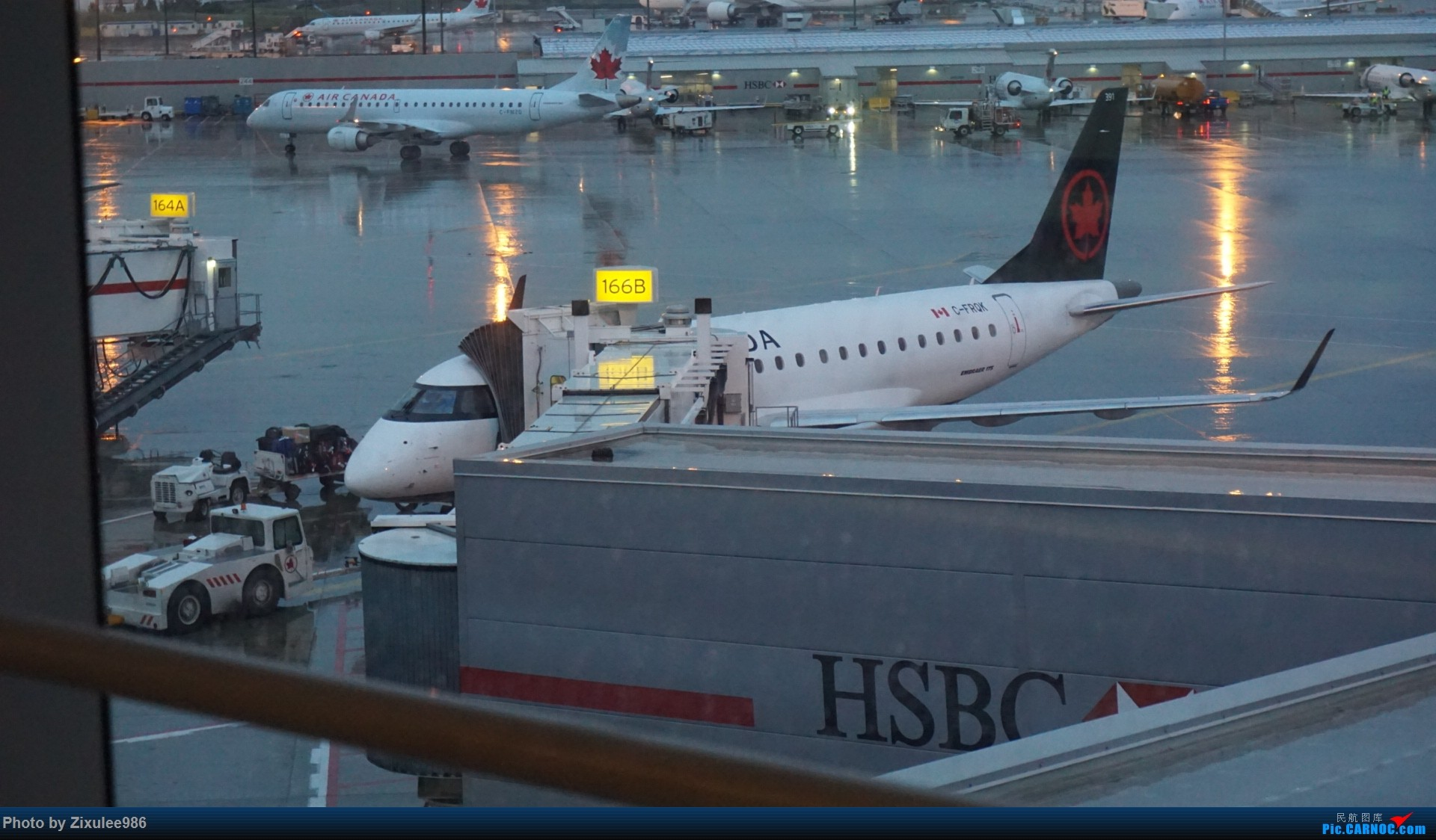 Re:[原创]加拿大21日游学之旅 (二)~加航AC28..PVG-YYZ到达多村后的雨天~多图缓更(将会附上上一集忘发的flightlog)请各位大侠谅解~ EMBRAER E-190 C-FRQK 加拿大多伦多皮尔逊机场