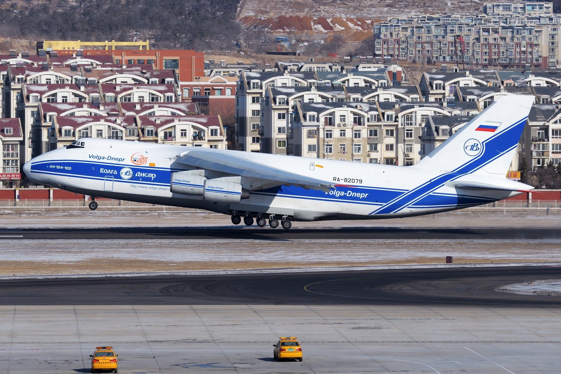 Re:★[DLC]一点有趣的事情(持续更新中)★ ANTONOV AN-124 RA-82079 中国大连国际机场