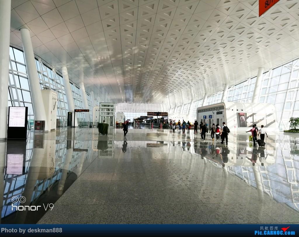 [原创]武汉天河——上海虹桥,体验高大上的武汉机场T3航站楼    中国武汉天河国际机场