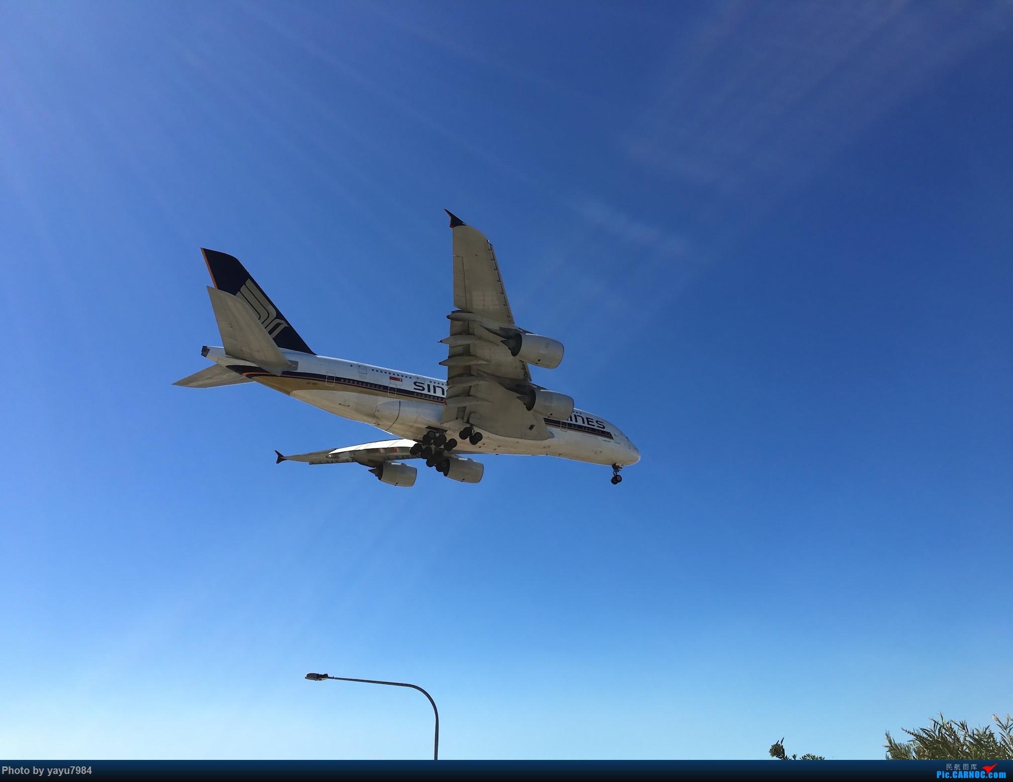 [原创][SYD] 久违的南向起降,纪录16R拍机之行 AIRBUS A380-800 9V-SKC 澳大利亚悉尼金斯福德·史密斯机场