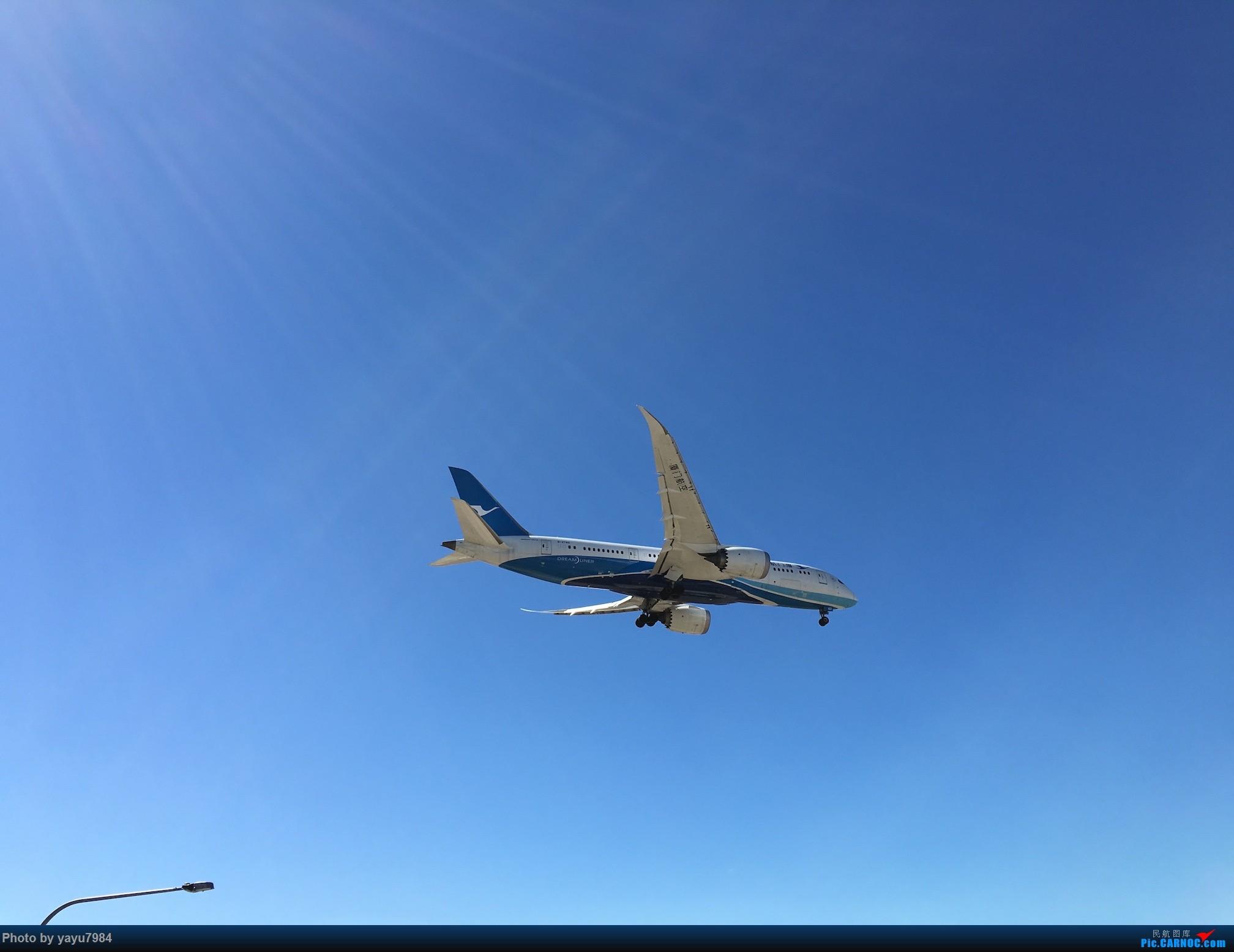 Re:[原创][SYD] 久违的南向起降,纪录16R拍机之行 BOEING 787-8 B-2760 澳大利亚悉尼金斯福德·史密斯机场