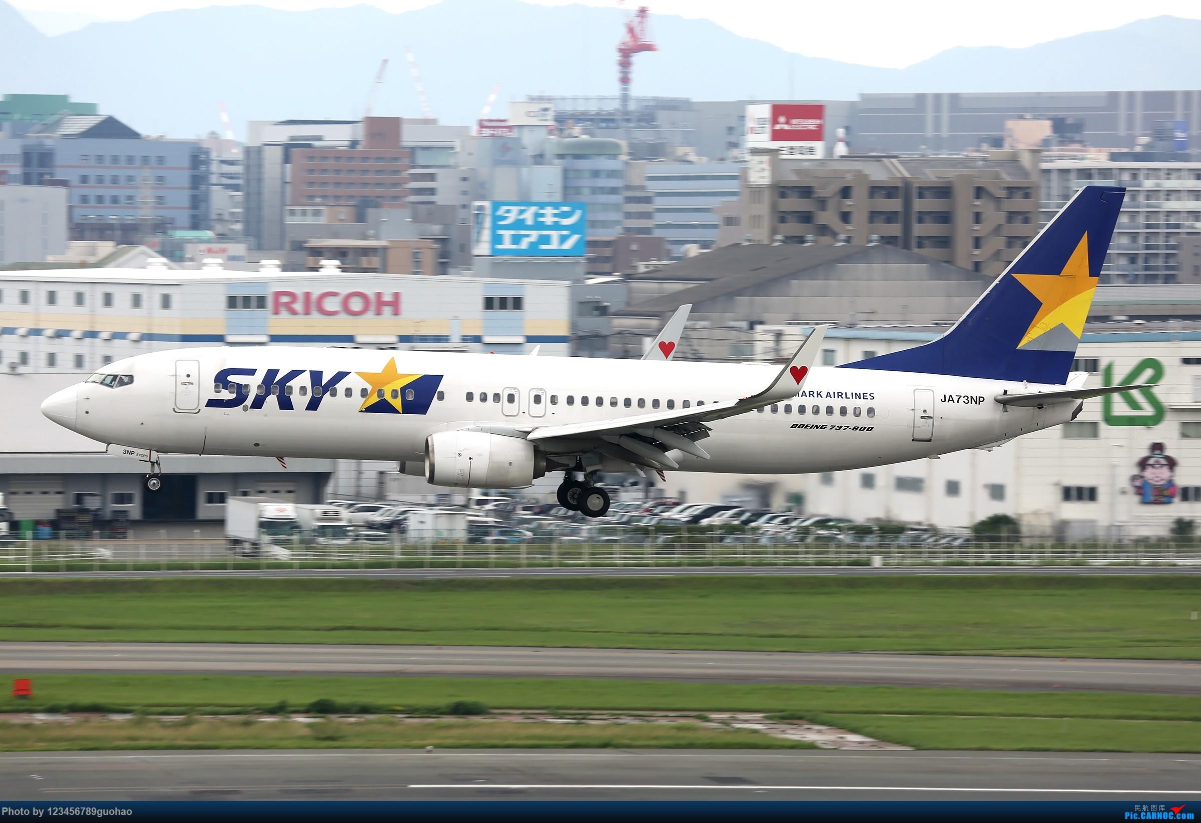 [原创]天马捷星 BOEING 737-800 JA73NP 日本福冈机场