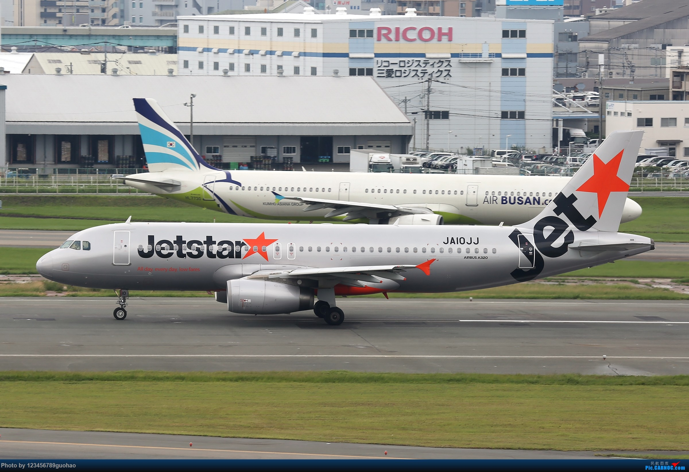 Re:[原创]天马捷星 AIRBUS A320 JA10JJ 日本福冈机场