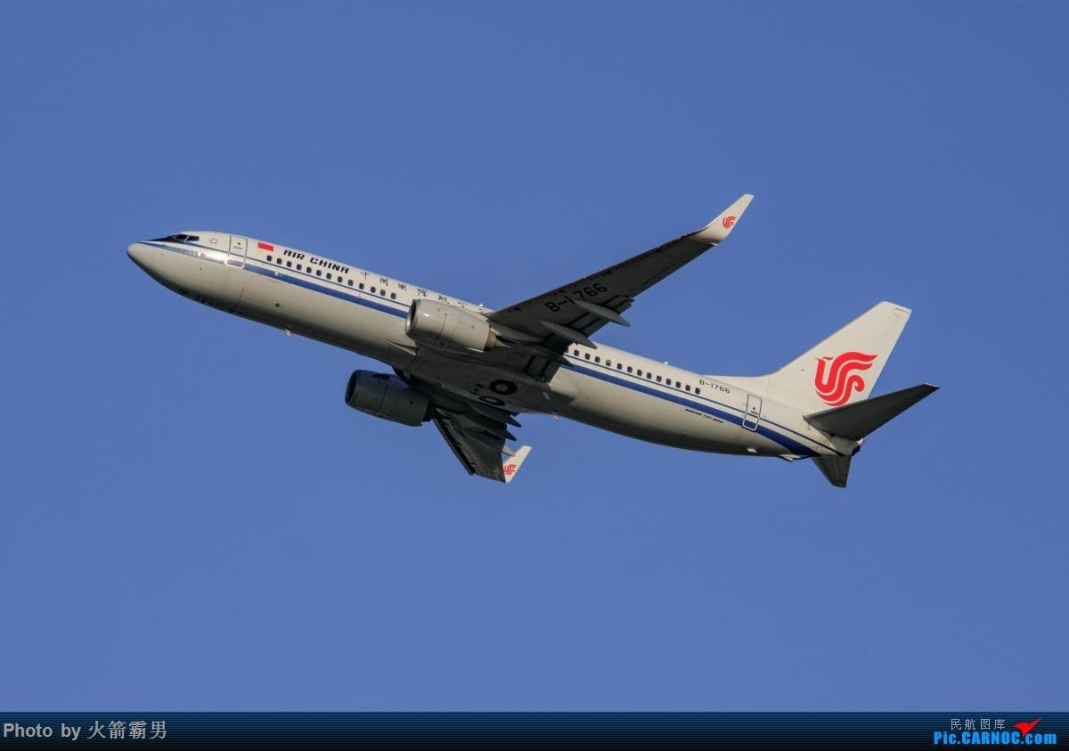Re:[原创]【Rocketman】8.23 PEK拍机纪行 BOEING 737-800 B-1766 中国北京首都国际机场