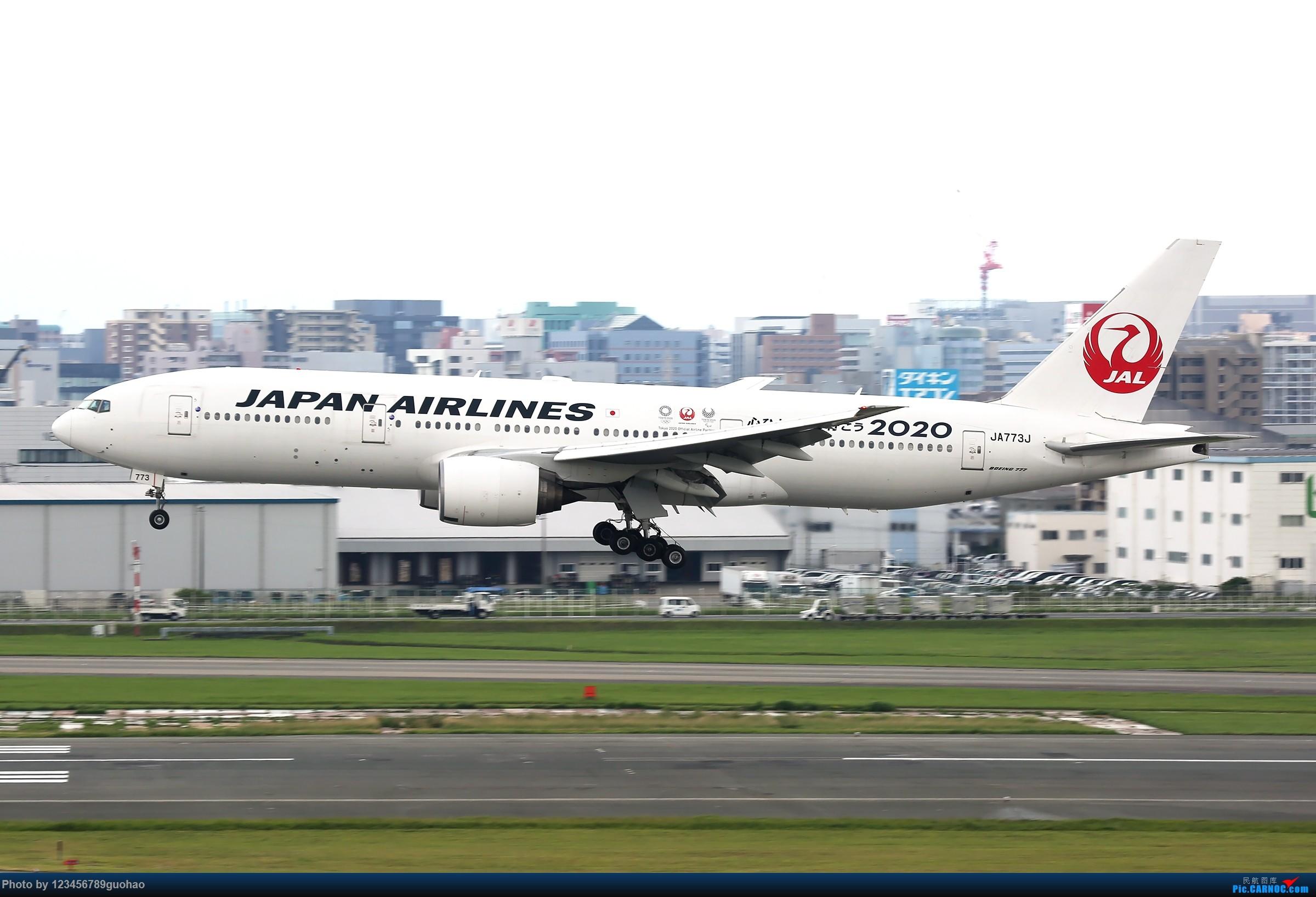 [原创]JAL BOEING 777-200 JA773J 日本福冈机场