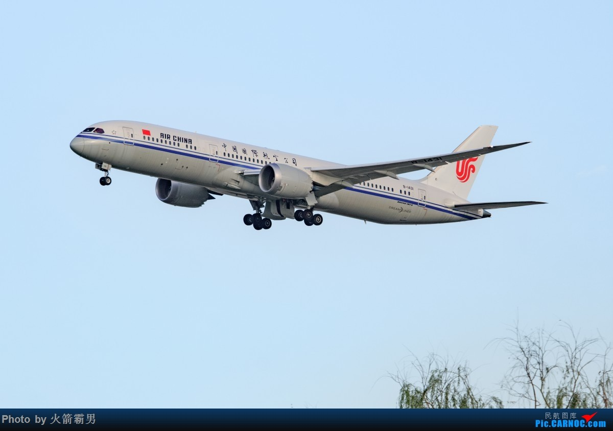 Re:【Rocketman】8.23 PEK拍机纪行 BOEING 787-9 B-1431 中国北京首都国际机场