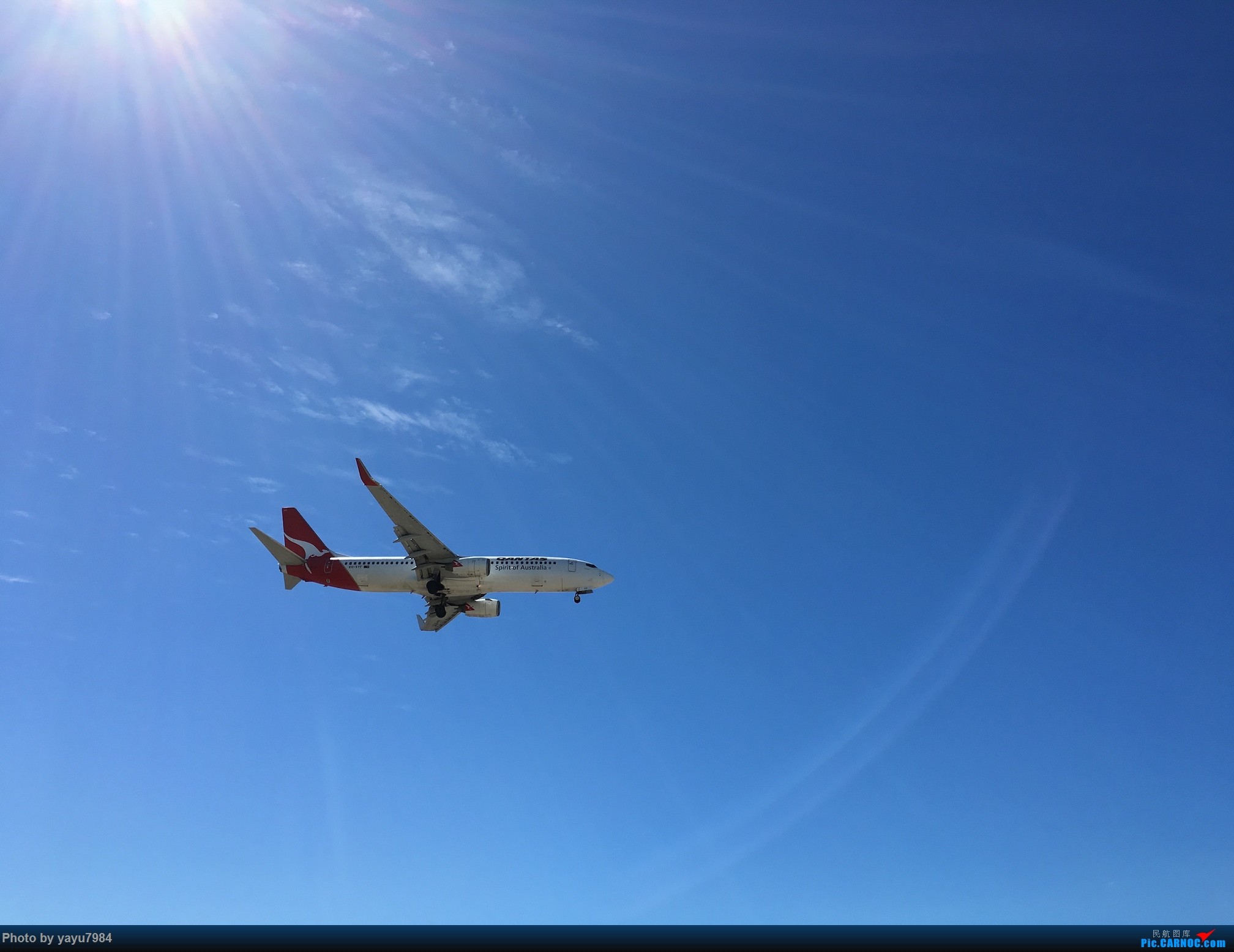 Re:[原创][SYD] 久违的南向起降,纪录16R拍机之行 BOEING 737-800 VH-VYF 澳大利亚悉尼金斯福德·史密斯机场