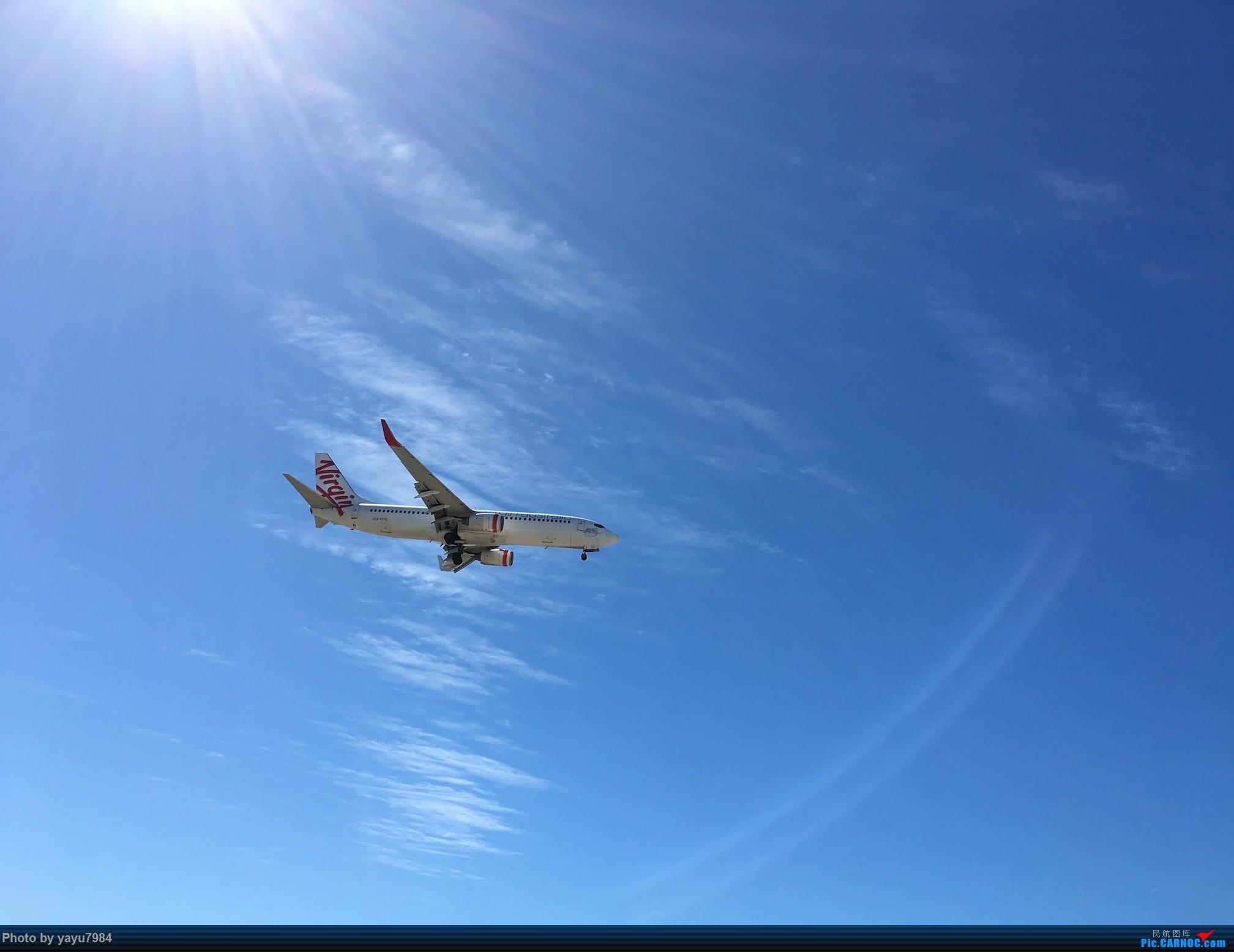 Re:[原创][SYD] 久违的南向起降,纪录16R拍机之行 BOEING 737-800 VH-VUG 澳大利亚悉尼金斯福德·史密斯机场