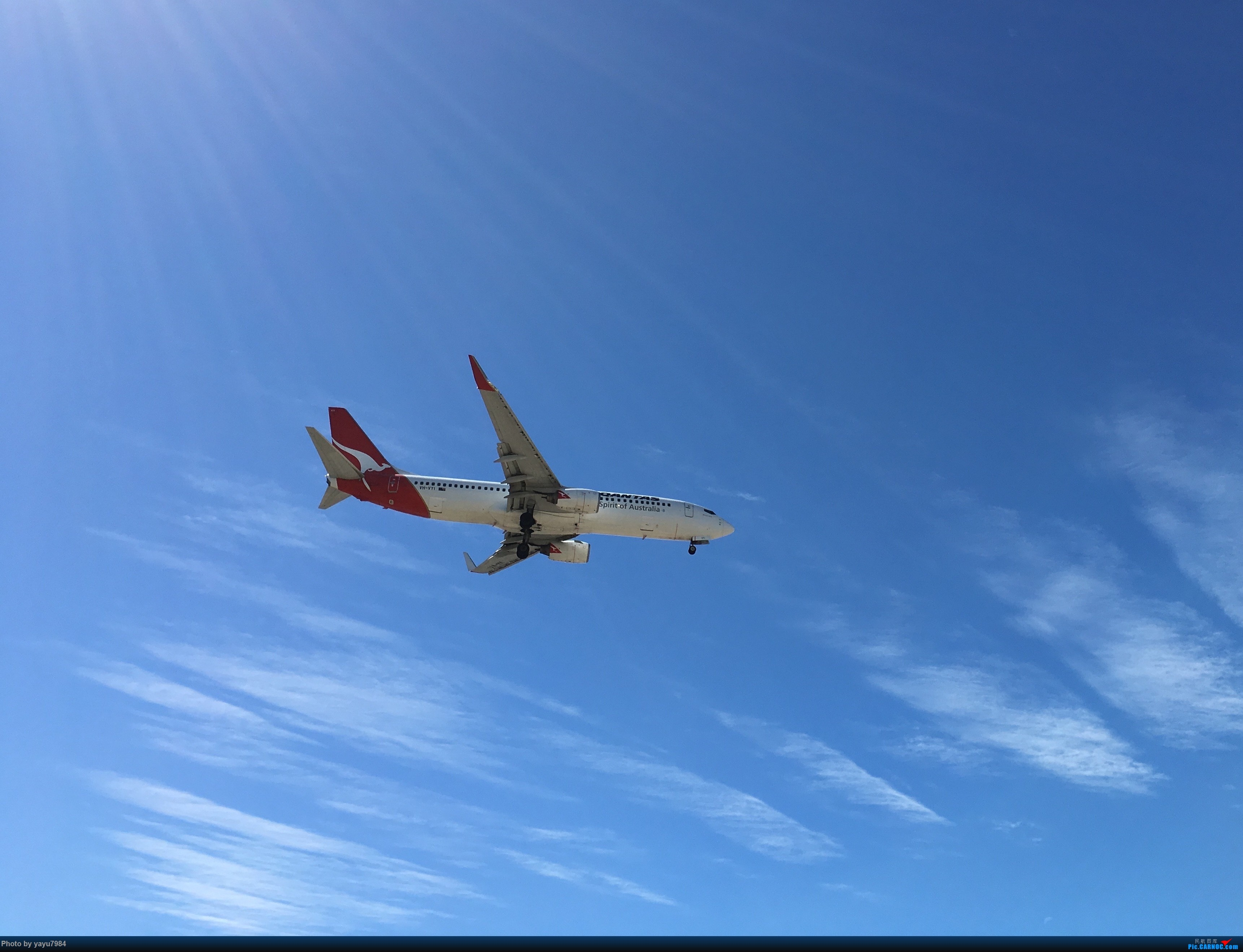 Re:[原创][SYD] 久违的南向起降,纪录16R拍机之行 BOEING 737-800 VH-VYI 澳大利亚悉尼金斯福德·史密斯机场