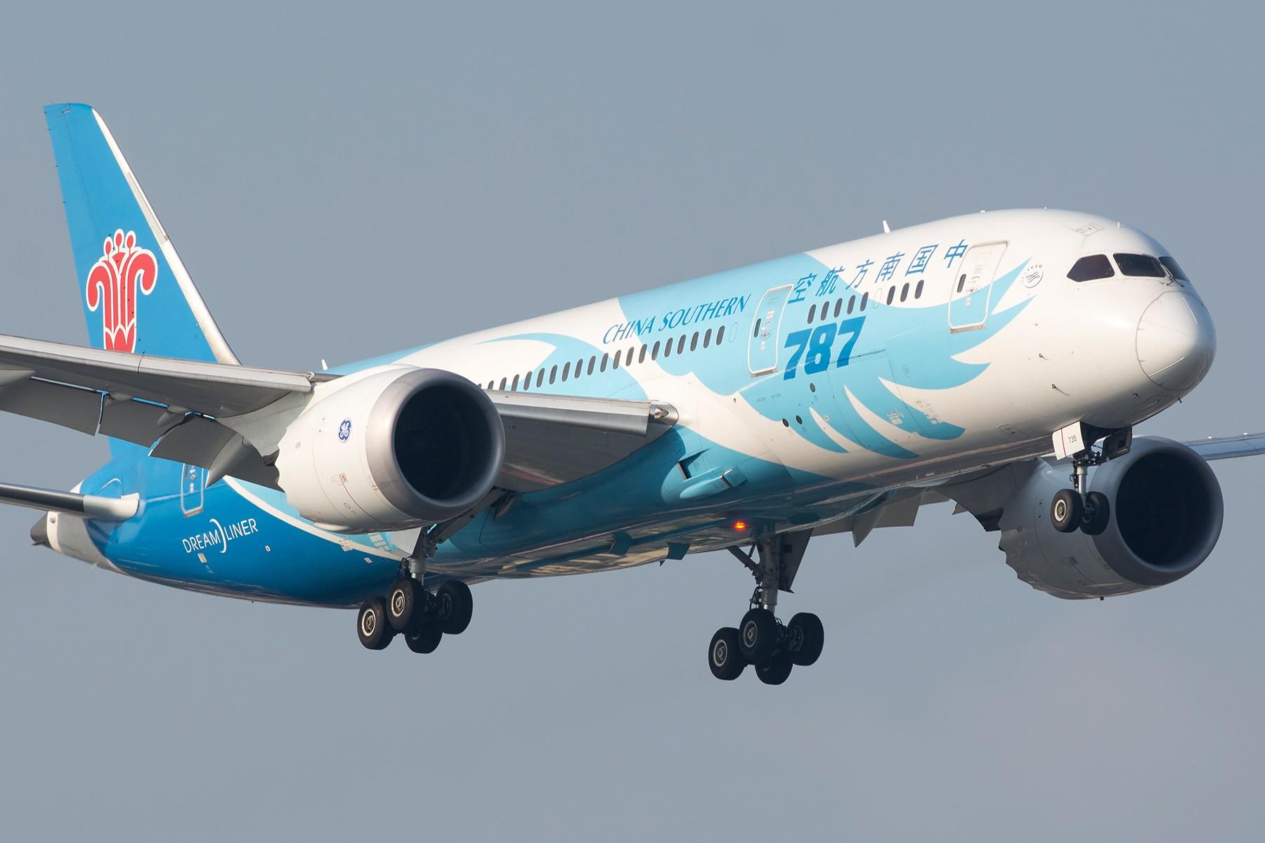 [原创][SHA] 第二次见的梦想之翼B787 BOEING 787-8 B-2733 中国上海虹桥国际机场