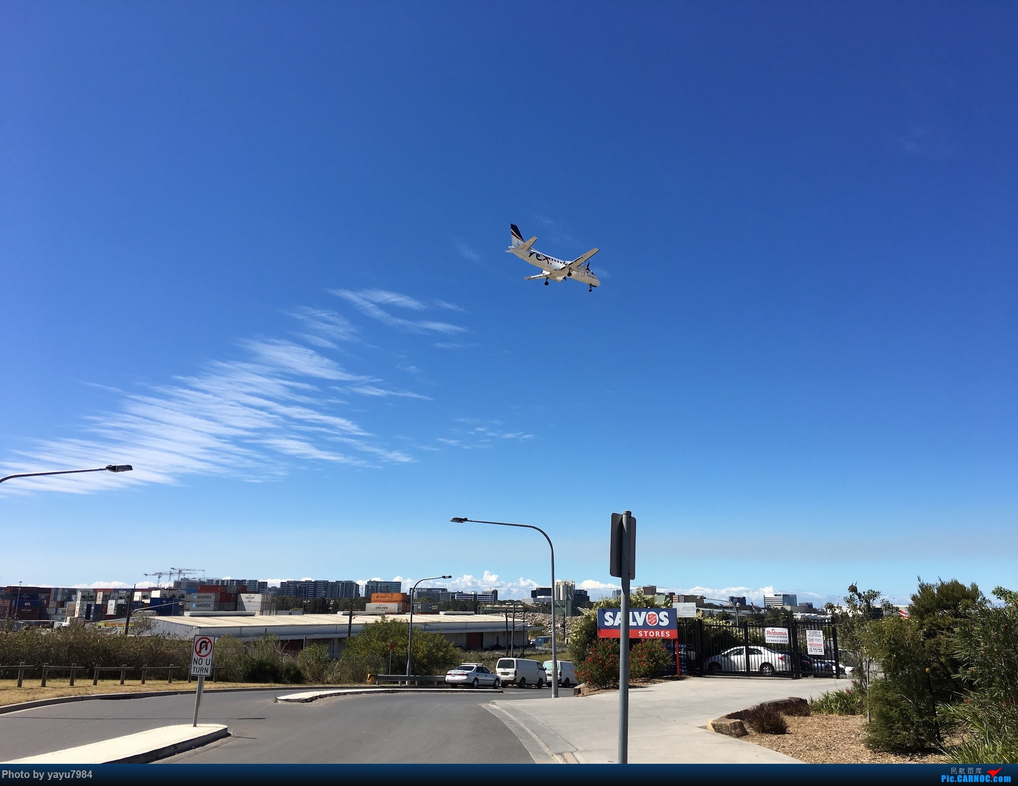 Re:[原创][SYD] 久违的南向起降,纪录16R拍机之行 SAAB 340  澳大利亚悉尼金斯福德·史密斯机场
