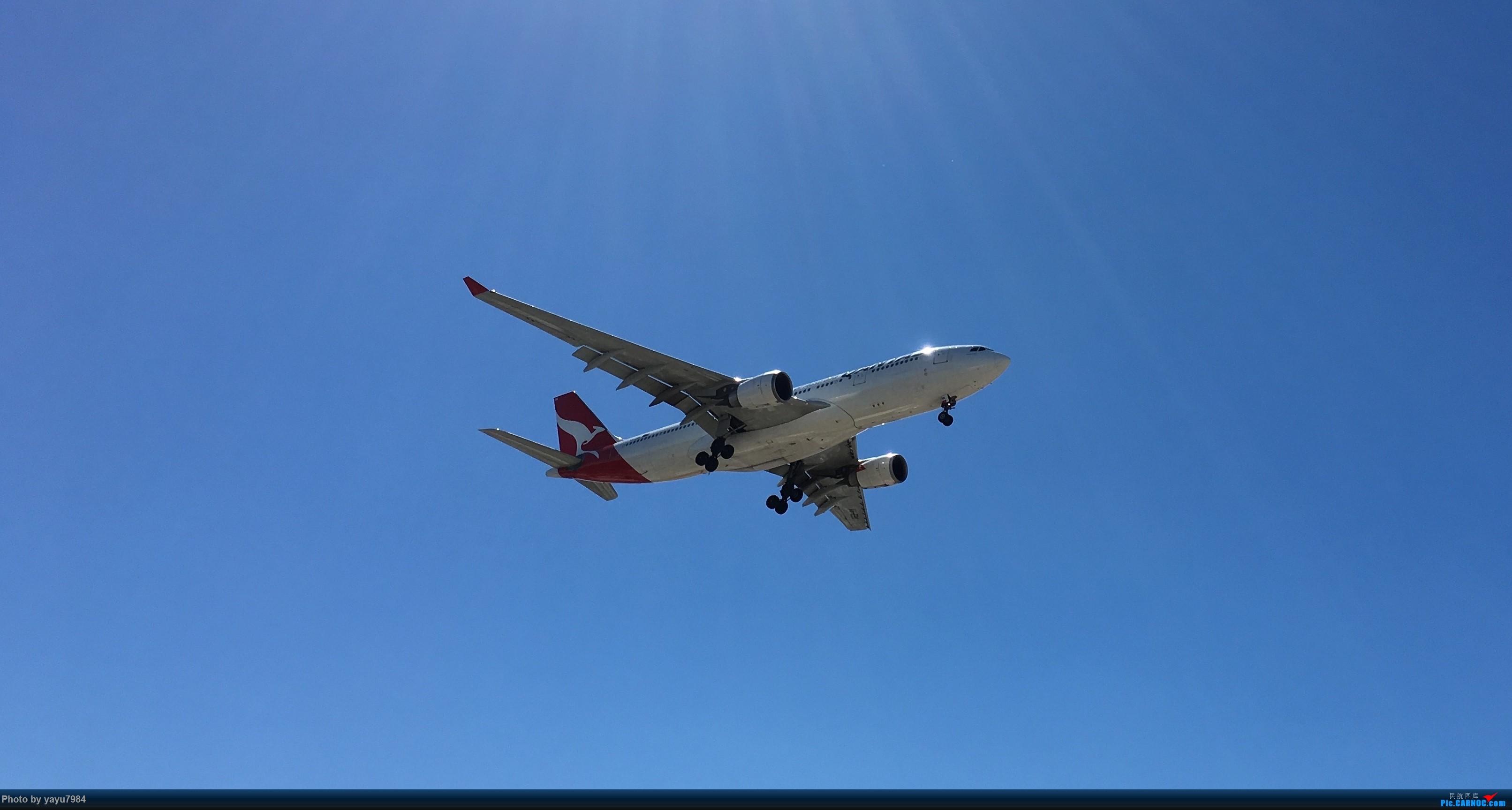 Re:[原创][SYD] 久违的南向起降,纪录16R拍机之行 AIRBUS A330-200 VH-EBK 澳大利亚悉尼金斯福德·史密斯机场