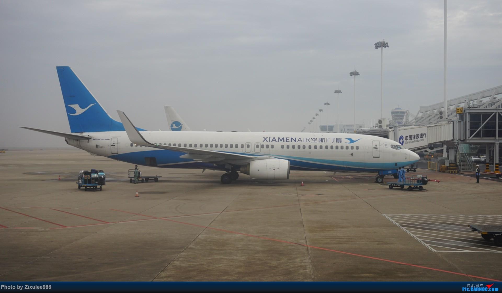 [原创][XMN]寒假东北游随拍PART1--厦航篇~头一次拍752 BOEING 737-85C(WL) B-5306 中国厦门高崎国际机场