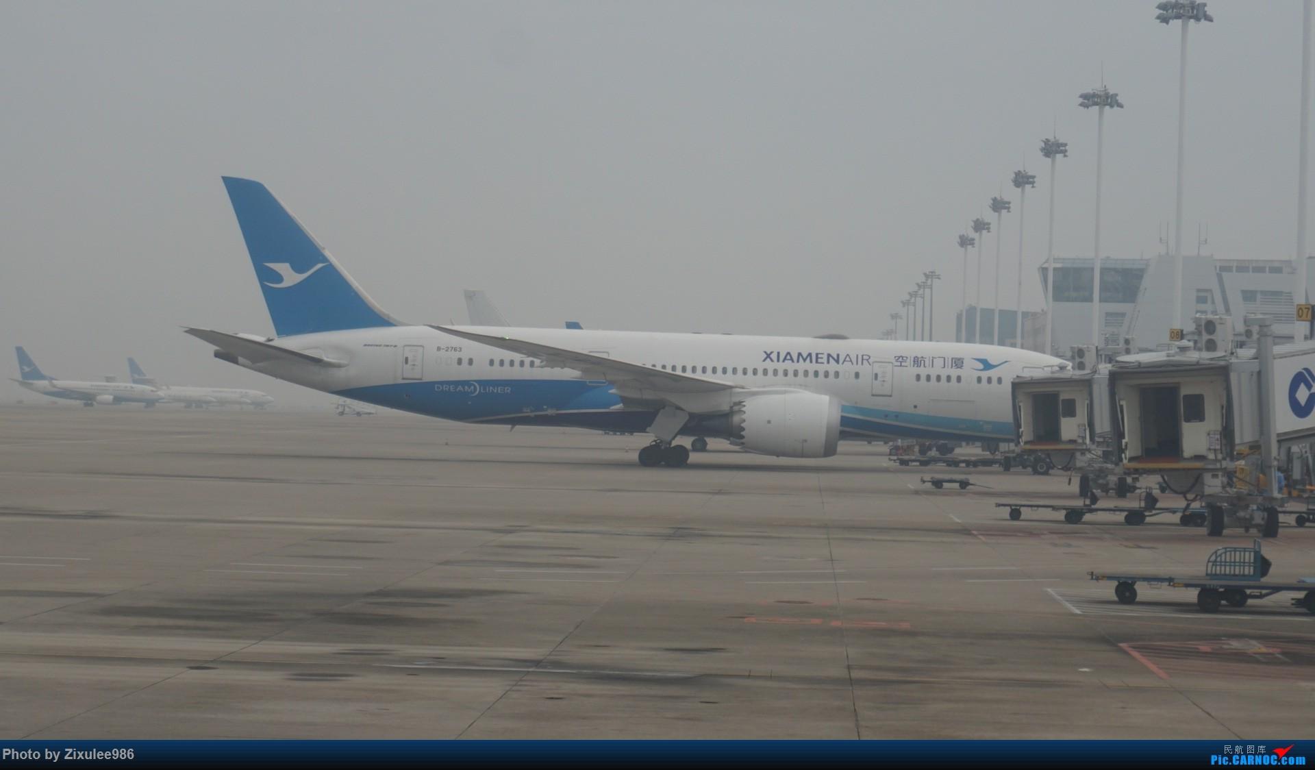Re:[原创][XMN]寒假东北游随拍--厦航篇~头一次拍752 BOEING 787-8 B-2763 中国厦门高崎国际机场