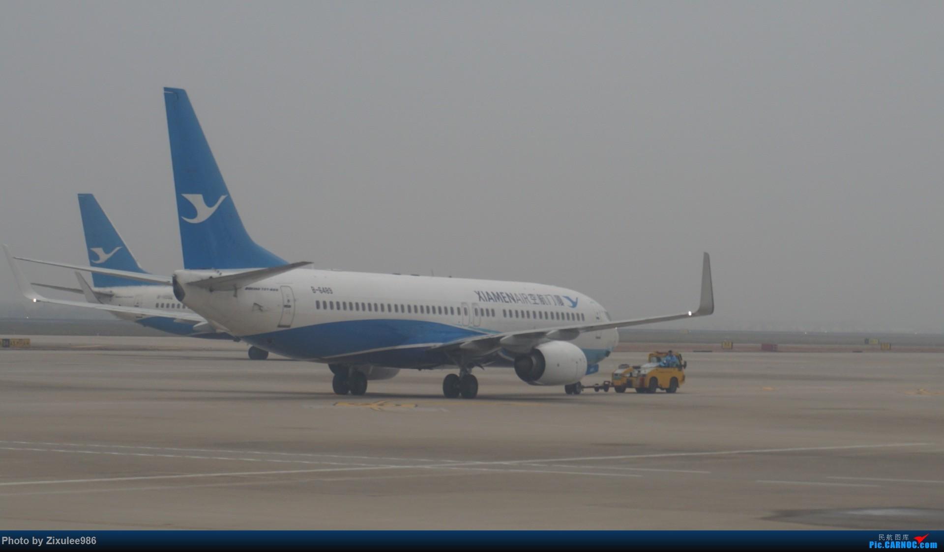 Re:[原创][XMN]寒假东北游随拍--厦航篇~头一次拍752 BOEING 737-85C(WL) B-6489 中国厦门高崎国际机场