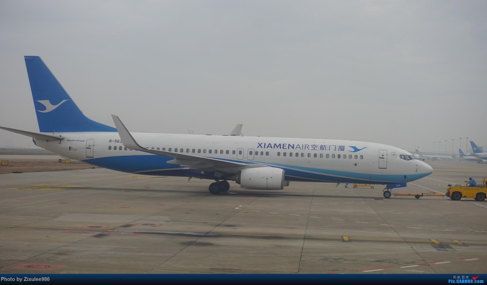 Re:[原创][XMN]寒假东北游随拍PART1--厦航篇~头一次拍752 BOEING 737-85C(WL) B-5635 中国厦门高崎国际机场