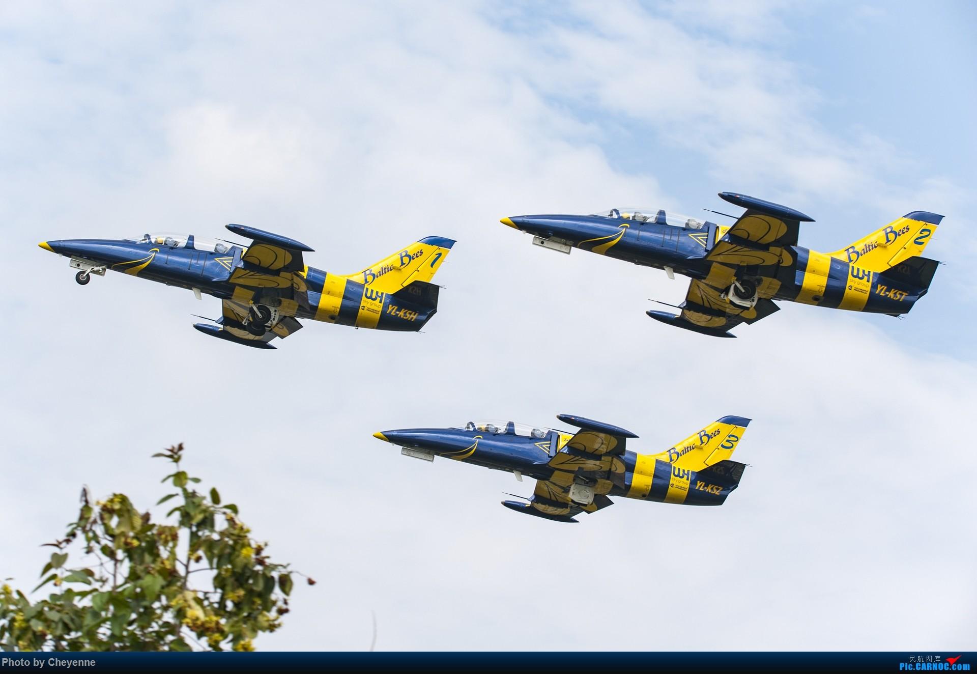 Re:[原创]外面遛遛就好,瞅瞅可爱的华约小蜜蜂 AERO L-39C ALBATROS YL-KSH 中国广汉机场