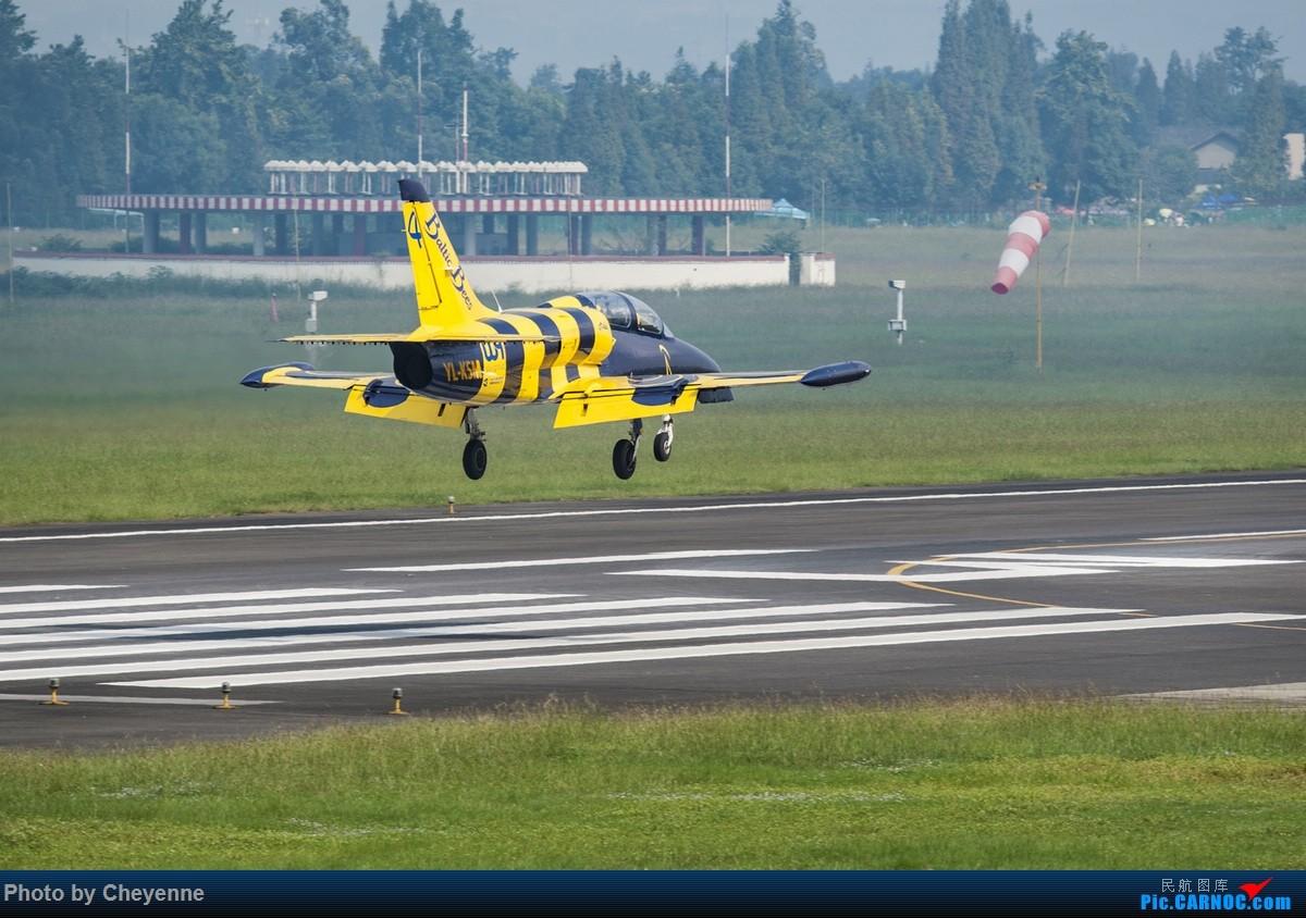 Re:[原创]外面遛遛就好,瞅瞅可爱的华约小蜜蜂 AERO L-39C ALBATROS YL-KSM 中国广汉机场