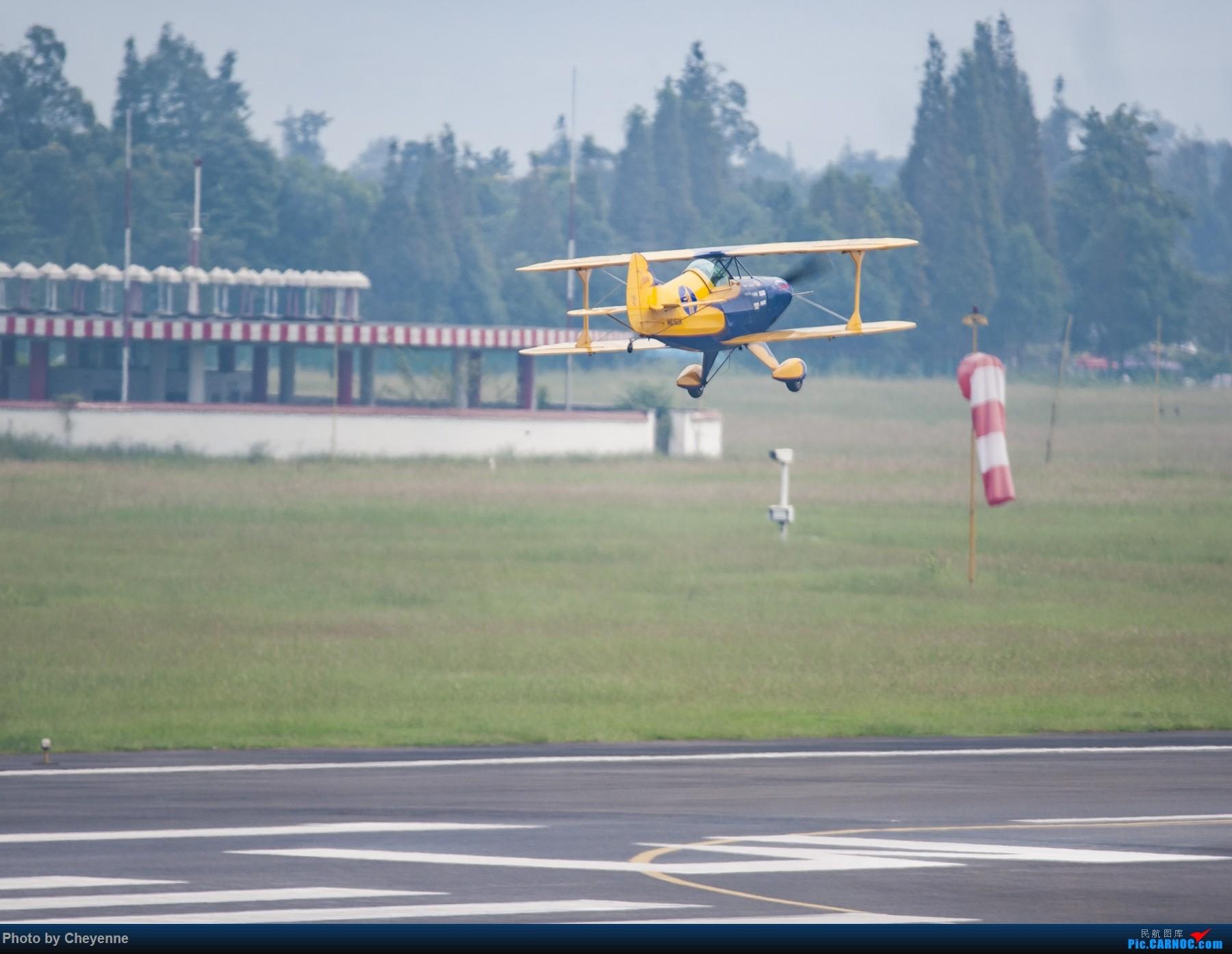 Re:[原创]外面遛遛就好,瞅瞅可爱的华约小蜜蜂 PITTS S-1S SPECIAL N615DK 中国广汉机场