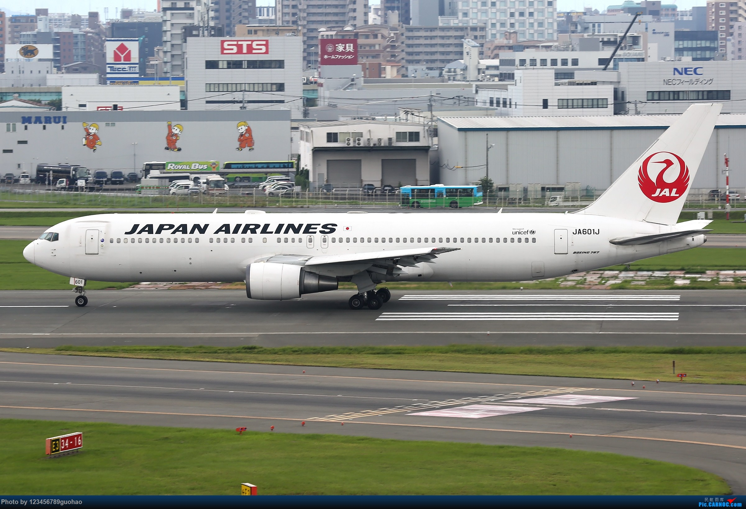 Re:[原创]日一组 BOEING 767-300 JA601J 日本福冈机场