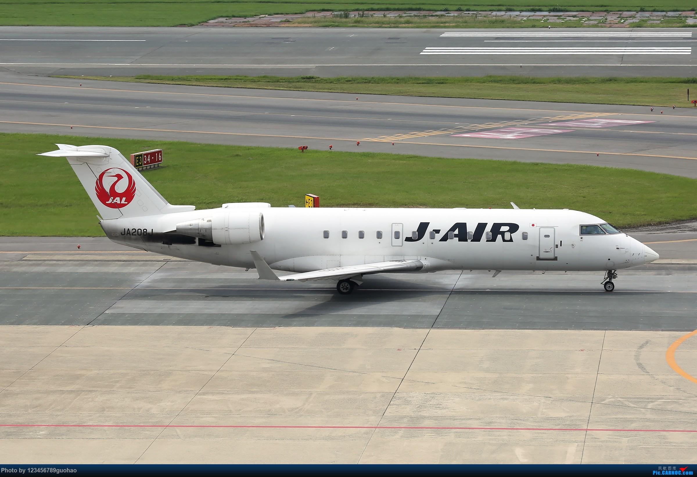 Re:[原创]日一组 BOMBARDIER CRJ-200 JA208J 日本福冈机场