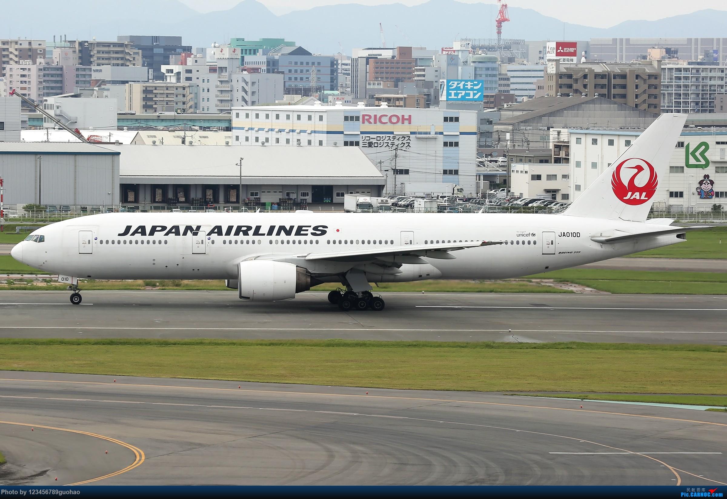 [原创]日一组 BOEING 777-200 JA010D 日本福冈机场